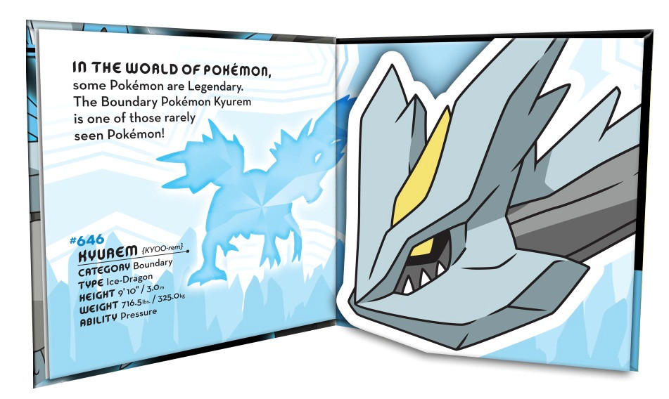 Super pokemon pop up black kyurem 9781604381795.in02