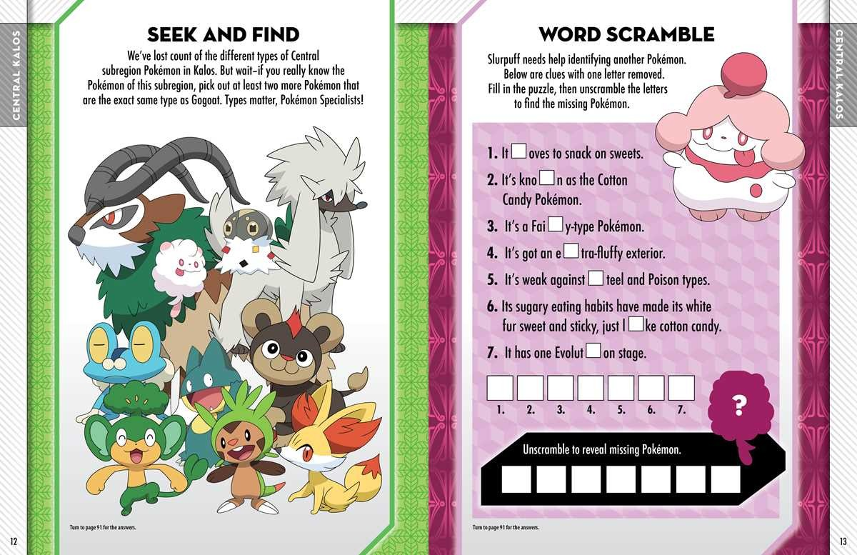 kalos region pokemon coloring pages - photo#8