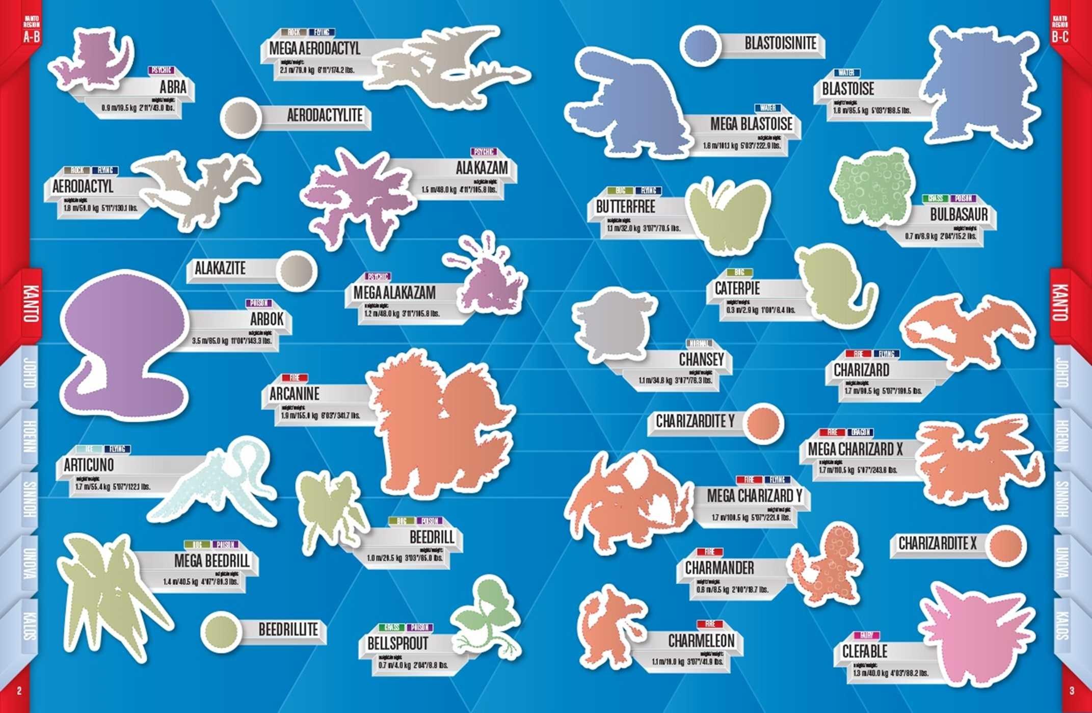 Pok mon legendary sticker collection regional pass book - Pokemon argent pokemon rare ...