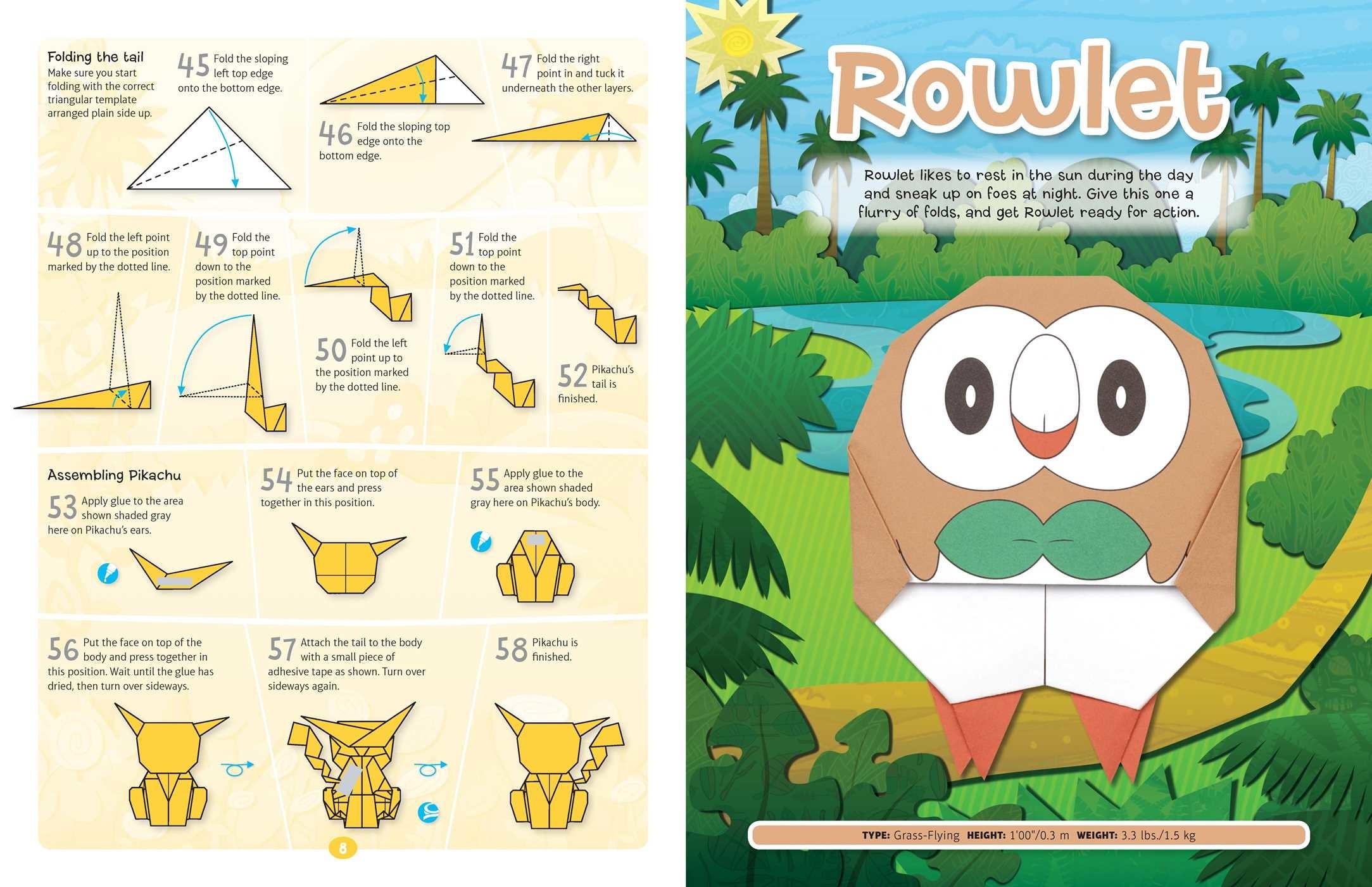 Pokemon Origami Fold Your Own Alola Region 9781604381979in03