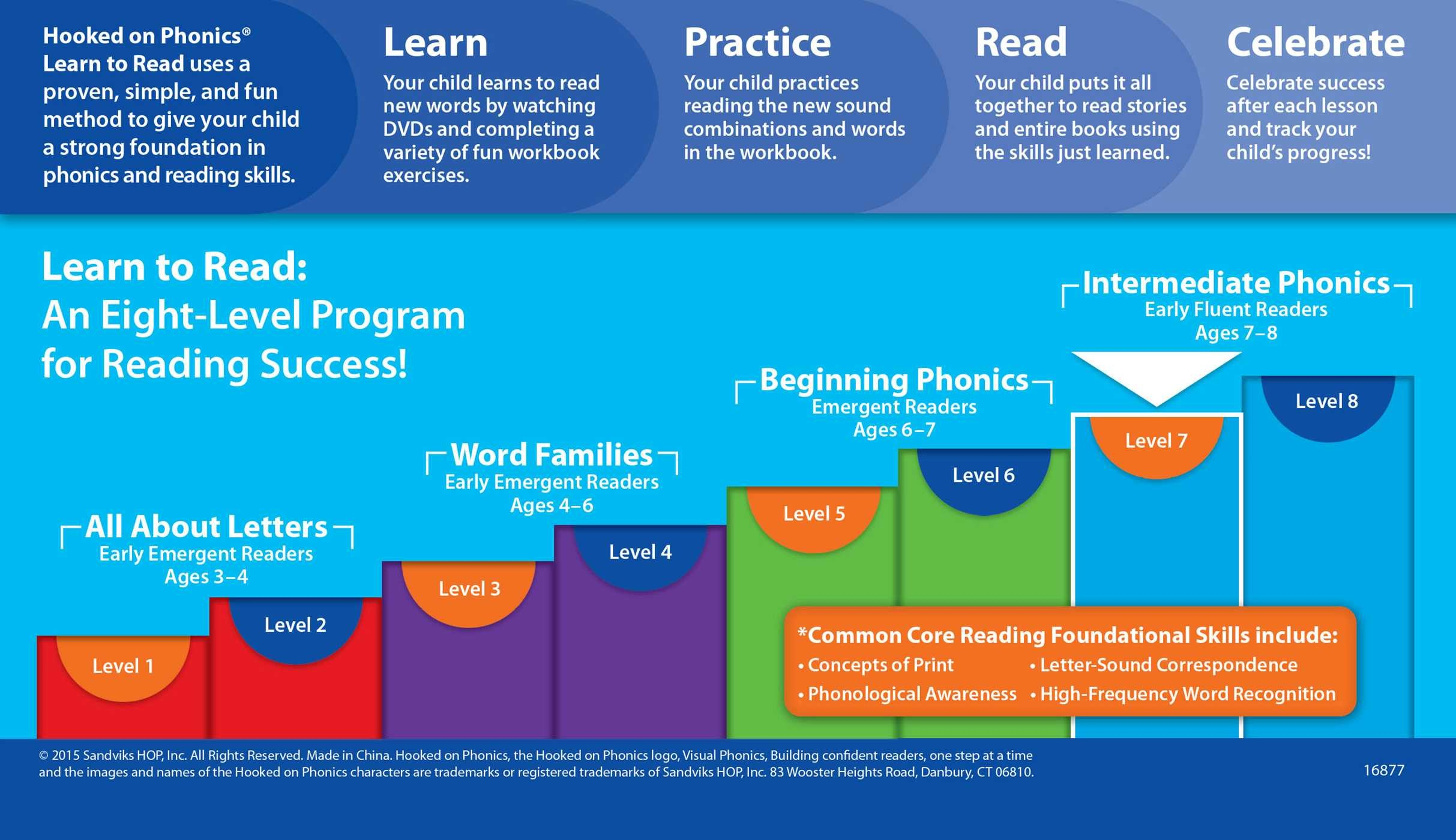 Hooked on Phonics Learn to Read - Second Grade | Book by Hooked On ...