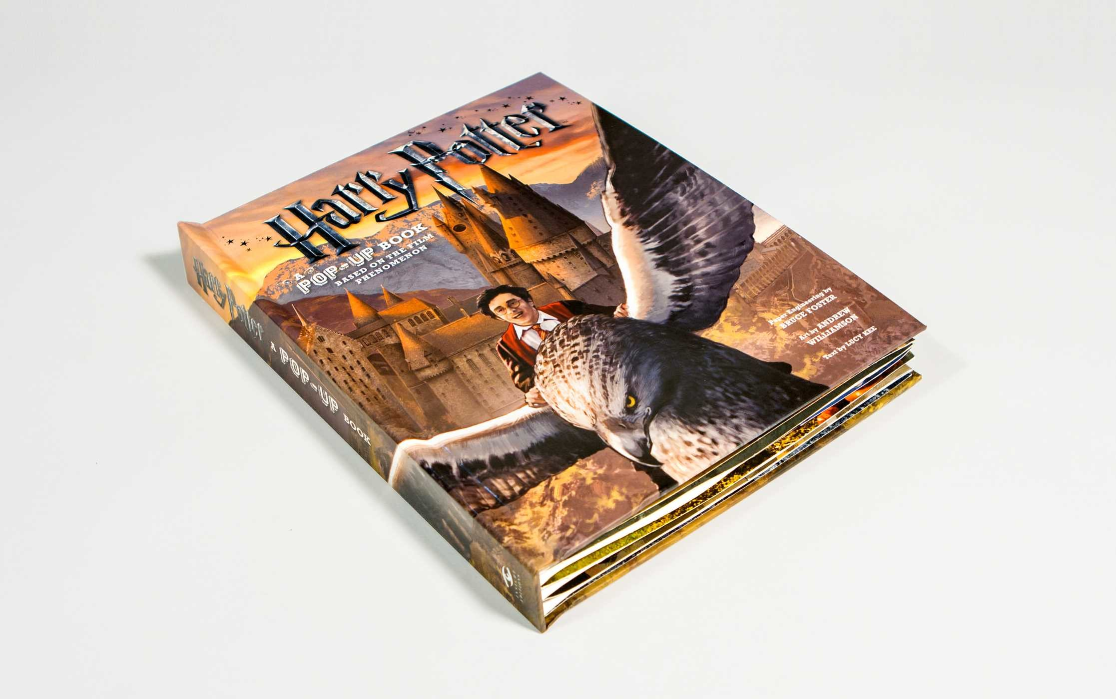 Harry Potter: A Pop-Up Book | Book by Andrew Williamson, Lucy Kee