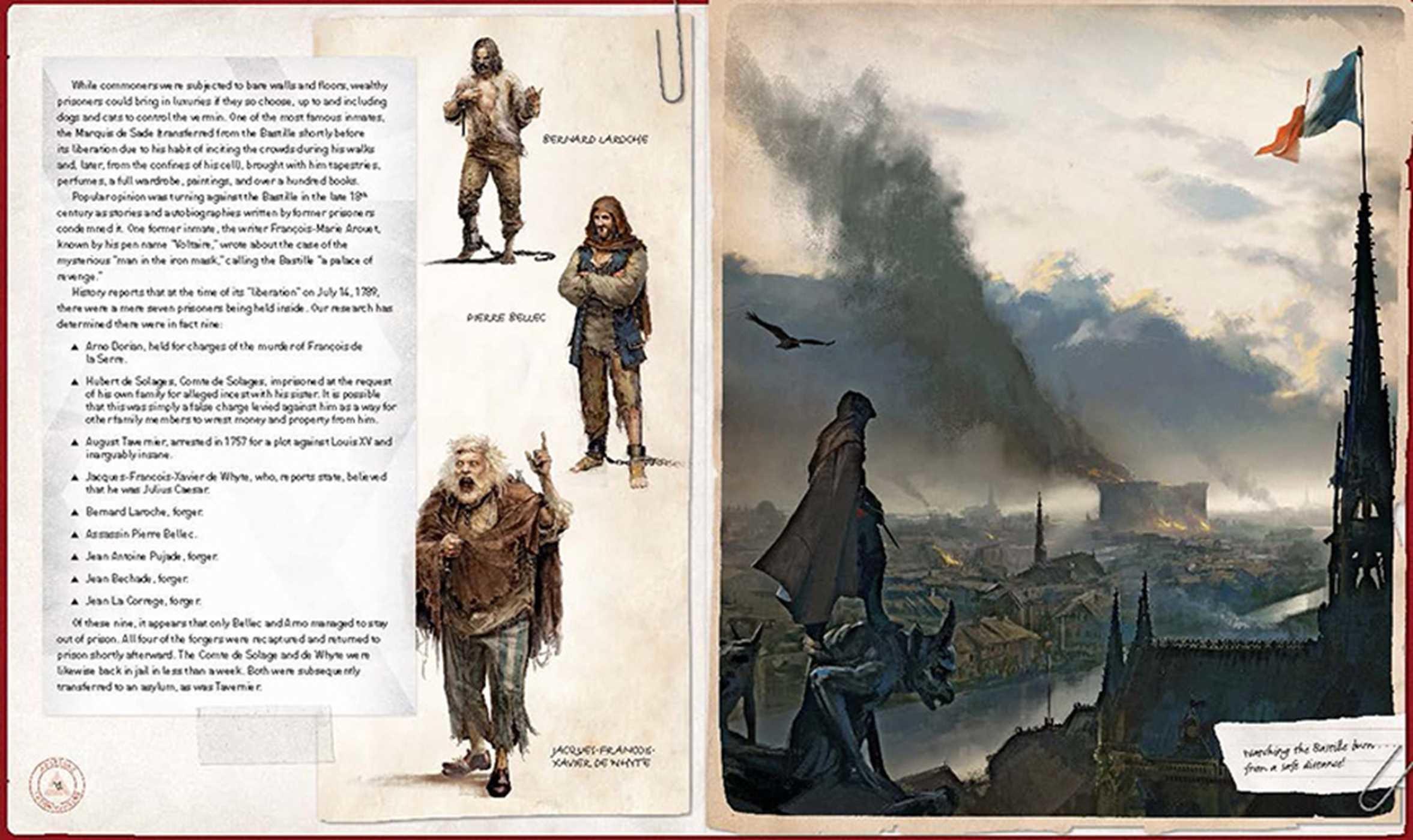 Assassins Creed Unity Book