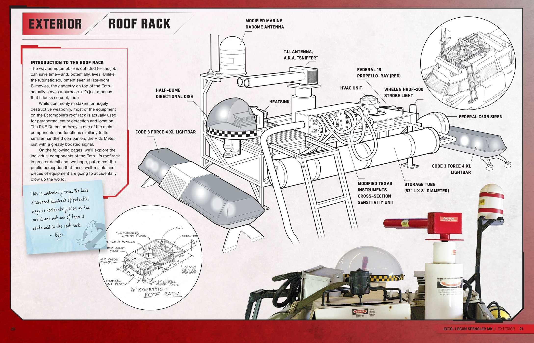 Ghostbusters Ectomobile Book By Troy Benjamin Marc Sumerak Ian Code 3 Led X 2100 Wiring Diagram 9781608875122in03