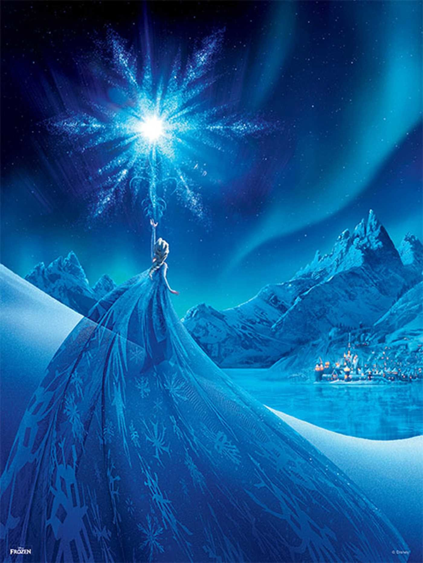 Frozen The Poster Collection Book By Disney