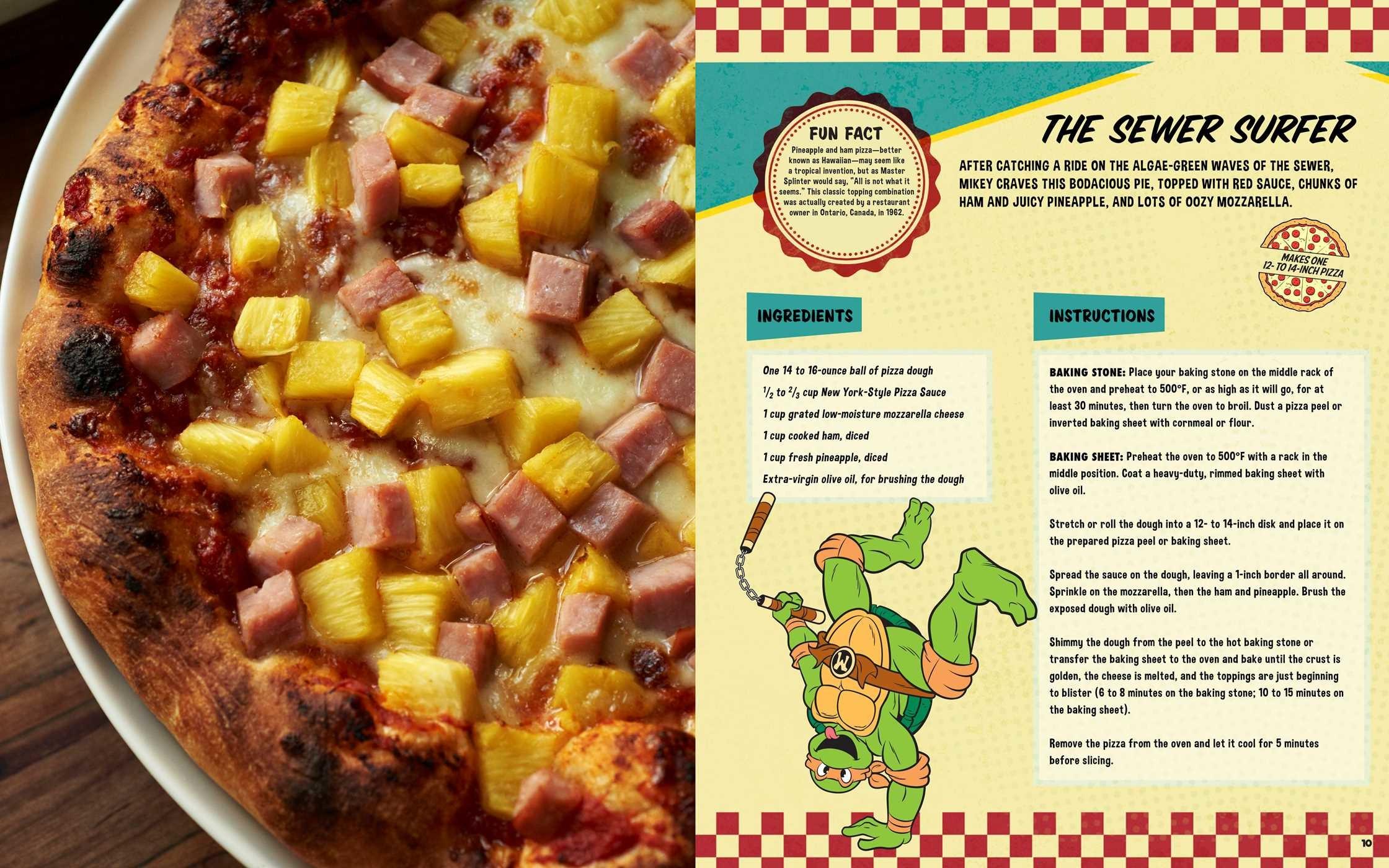 Teenage mutant ninja turtles the official pizza cookbook 9781608878314.in03