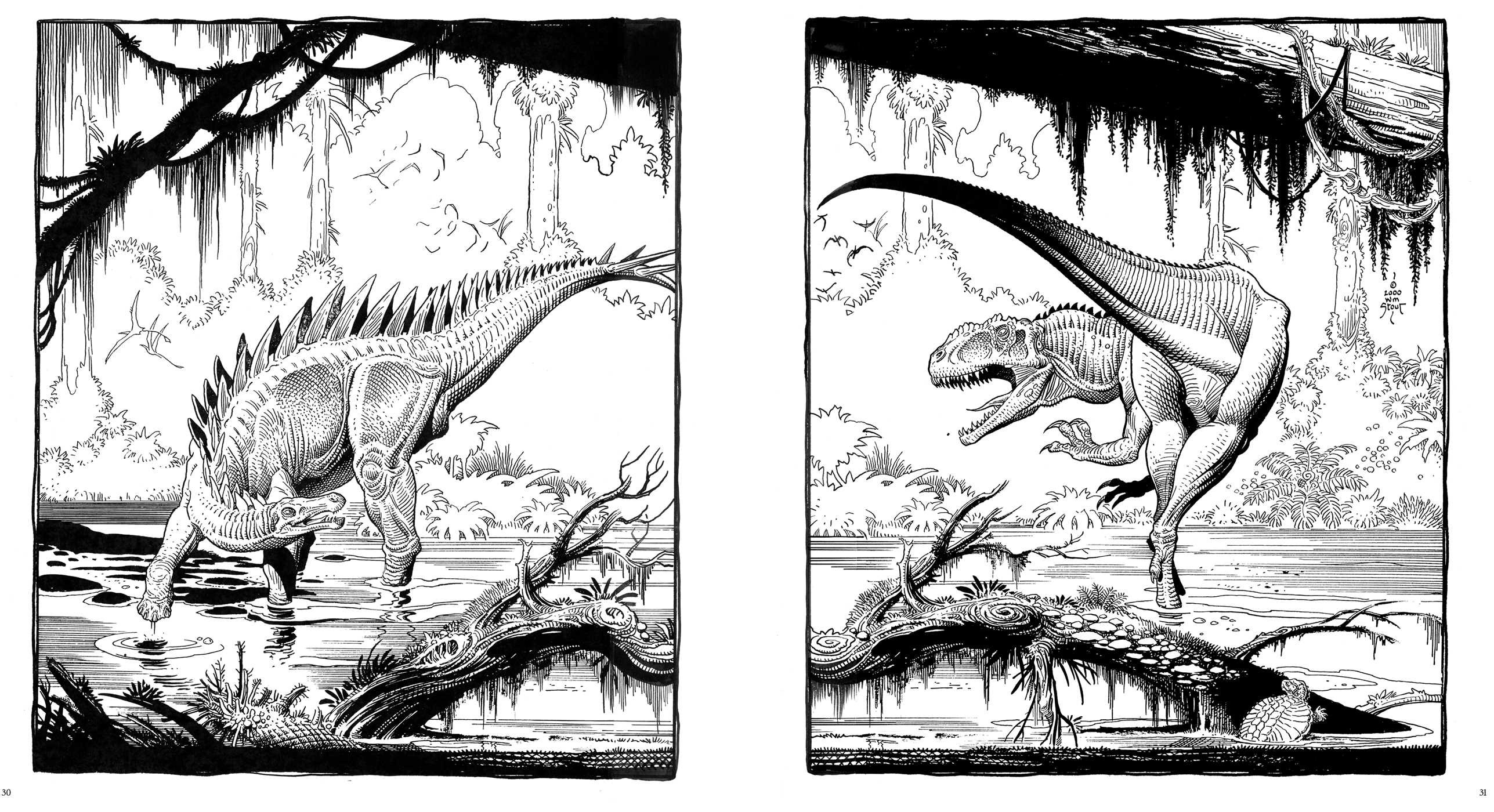 Dinosaurs A Coloring Book By William Stout Book By William Stout