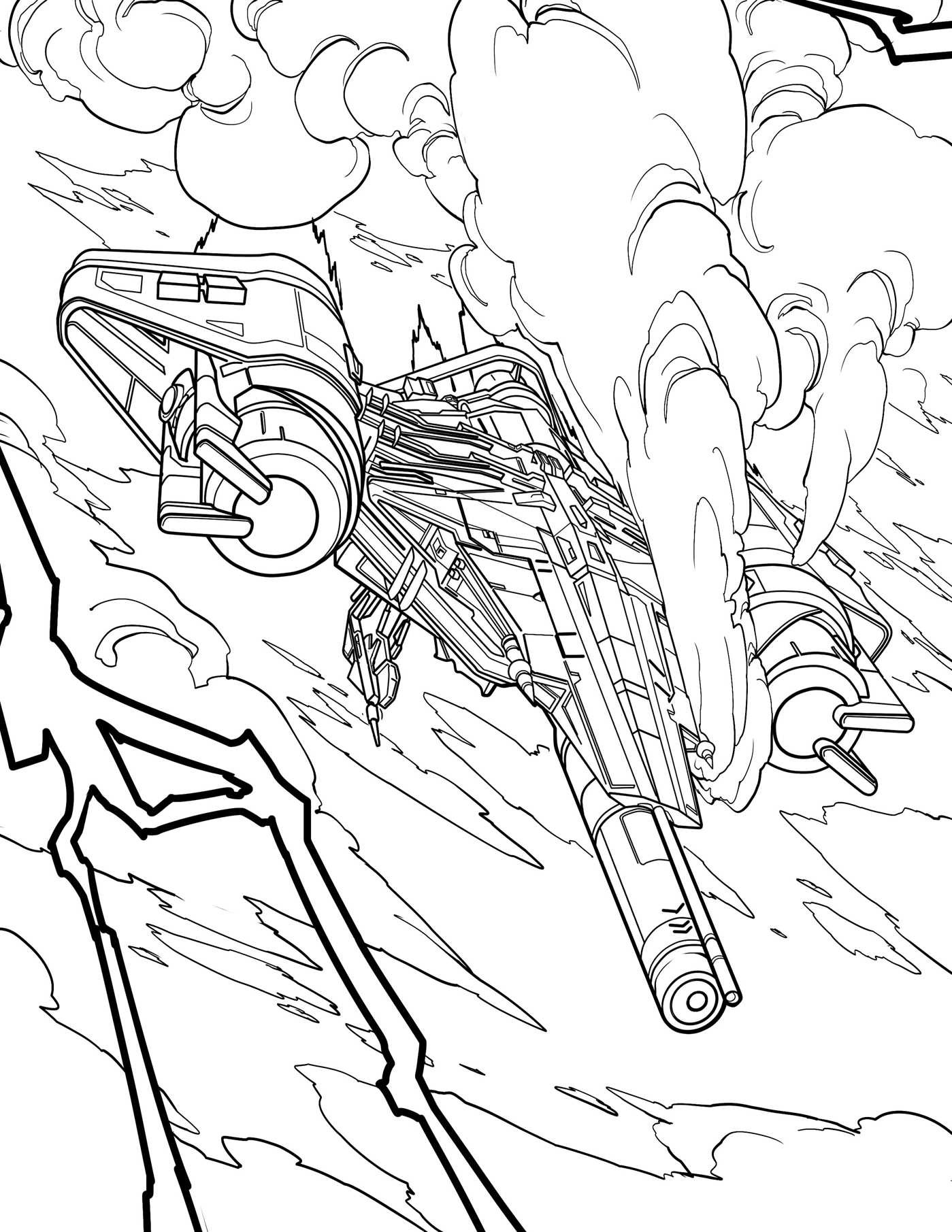 destiny 2 coloring pages | Destiny: The Official Coloring Book | Book by Bungie, Ze ...
