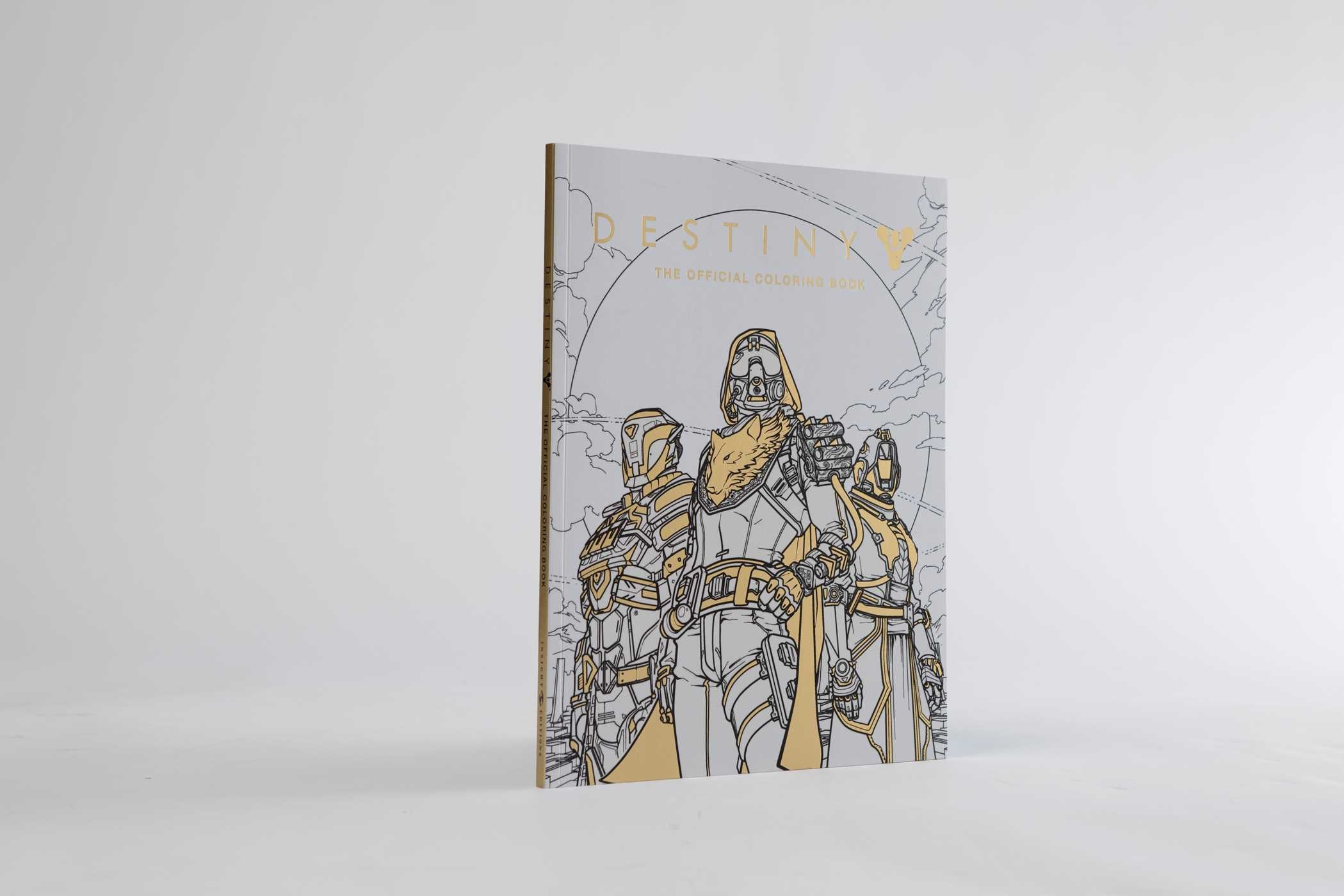 Destiny The Official Coloring Book 9781608879229in09