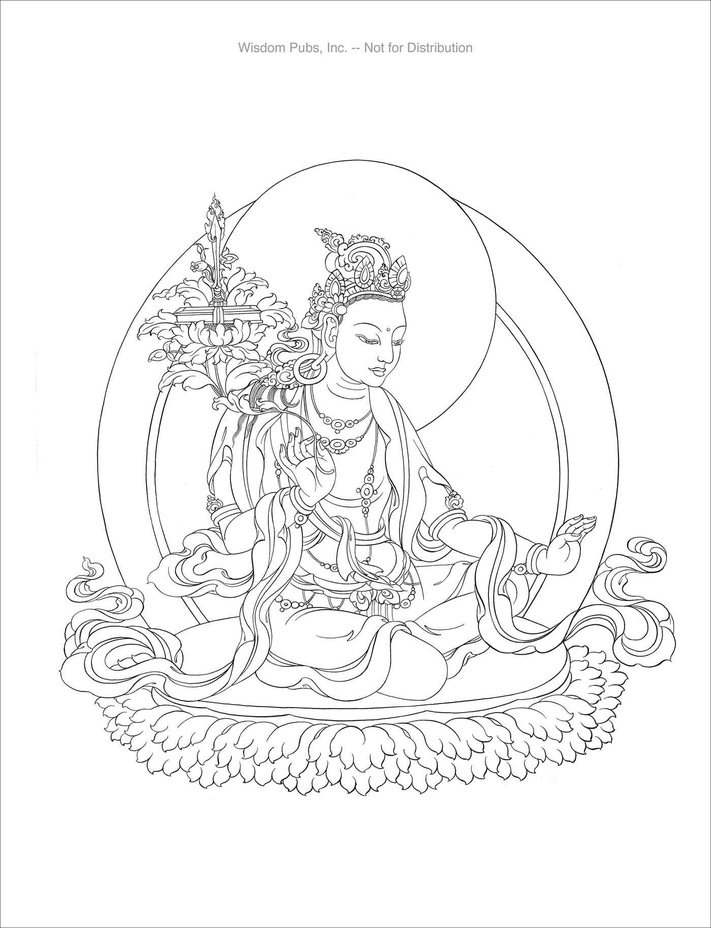 Coloring for Meditation | Book by Tashi Dhargyal | Official ...
