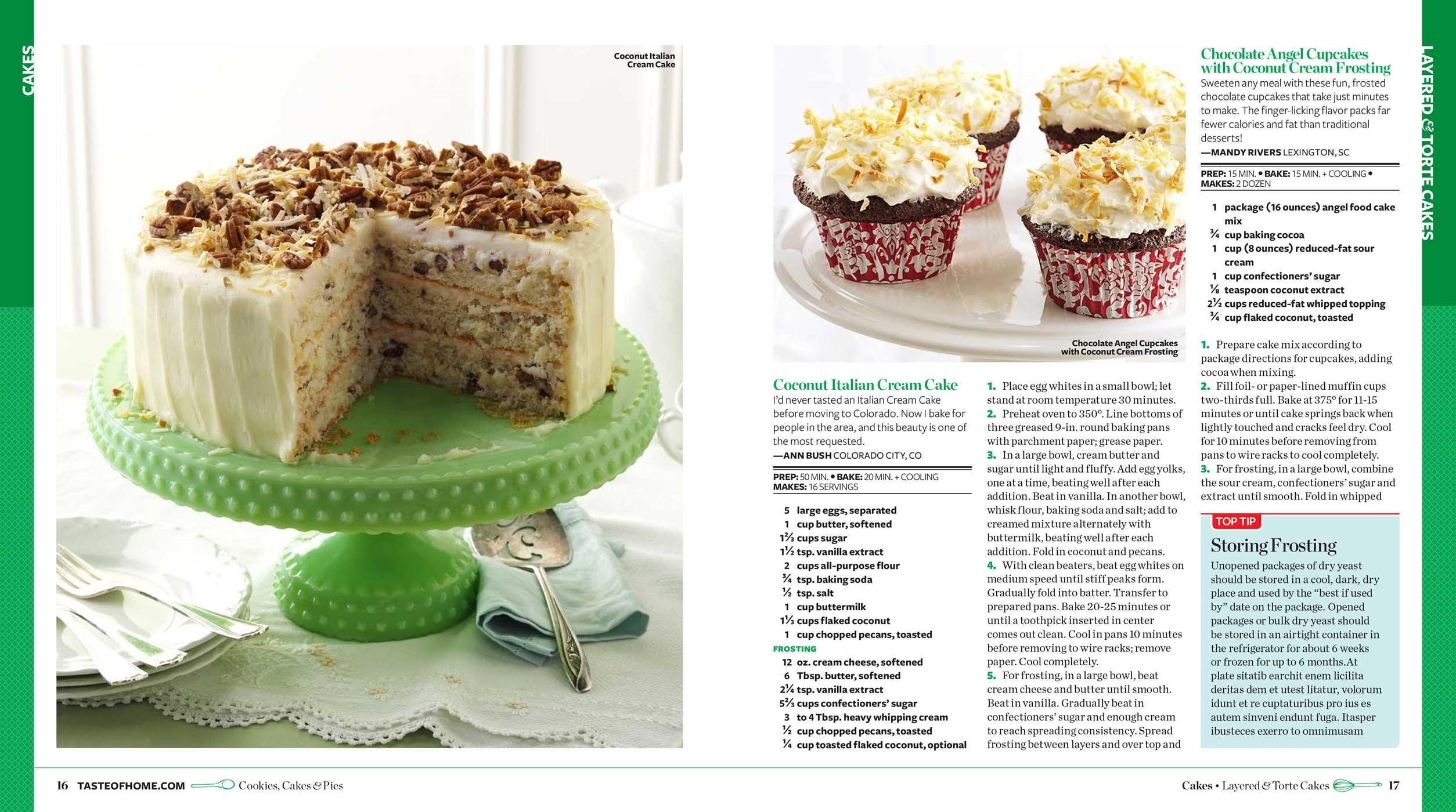 Taste Of Home Cookies Cakes Pies Book By Editors At Taste Of