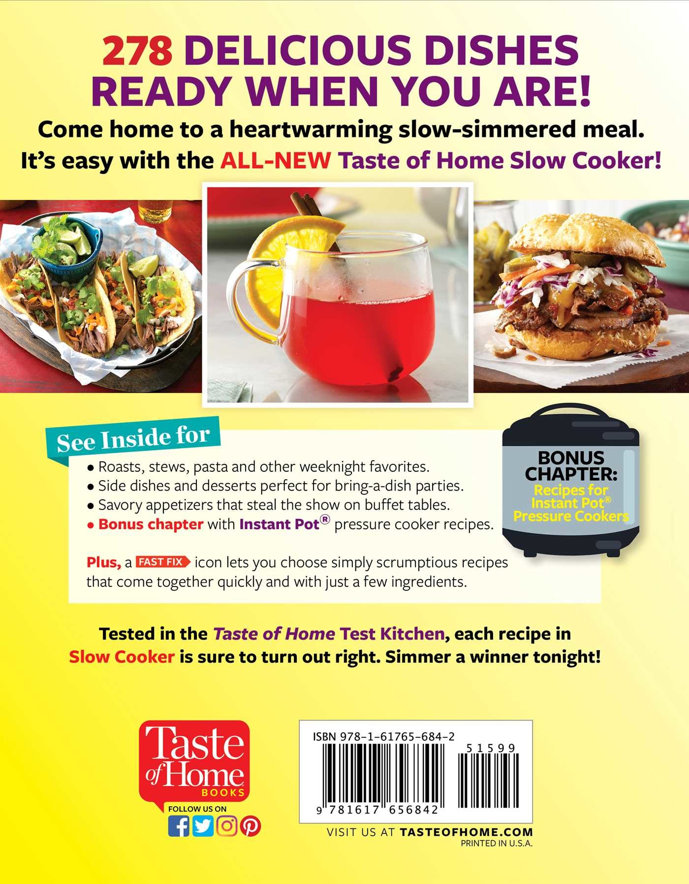 Taste of home slow cooker 3e 9781617656842.in01