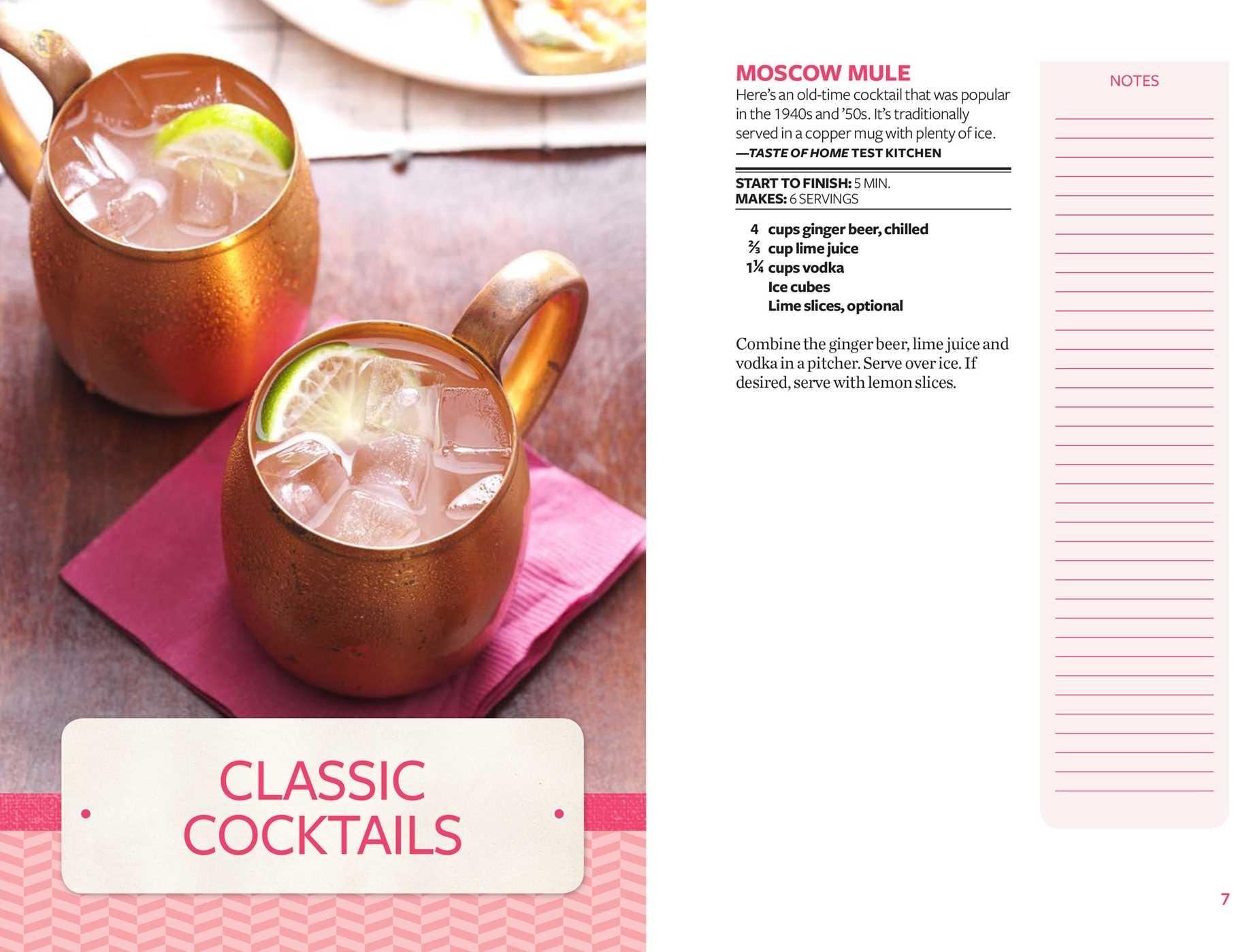 Taste of home happy hour mini binder 9781617657382.in01