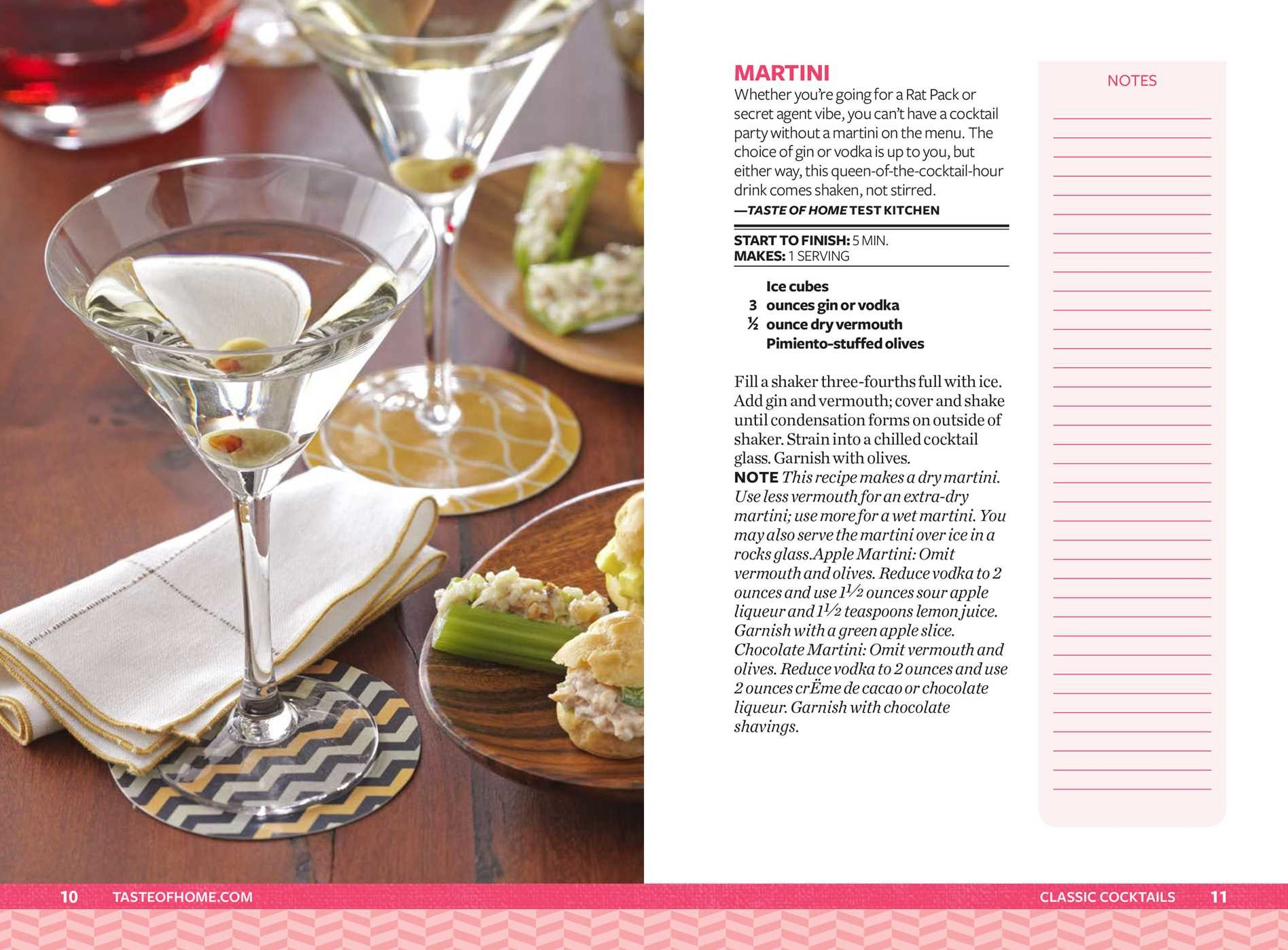 Taste of home happy hour mini binder 9781617657382.in06