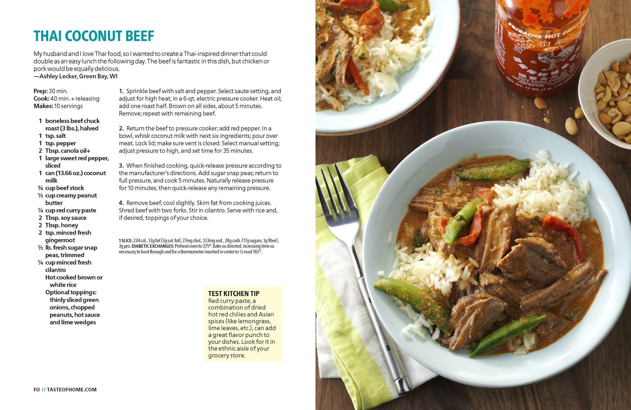 Taste of home instant pot cookbook 9781617657665.in03