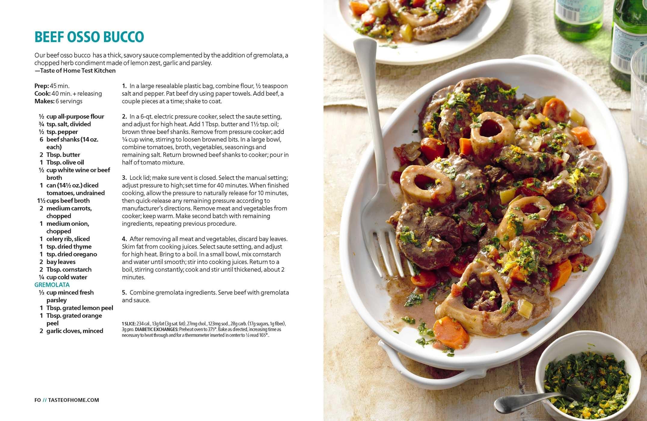 Taste of home instant pot cookbook 9781617657665.in05