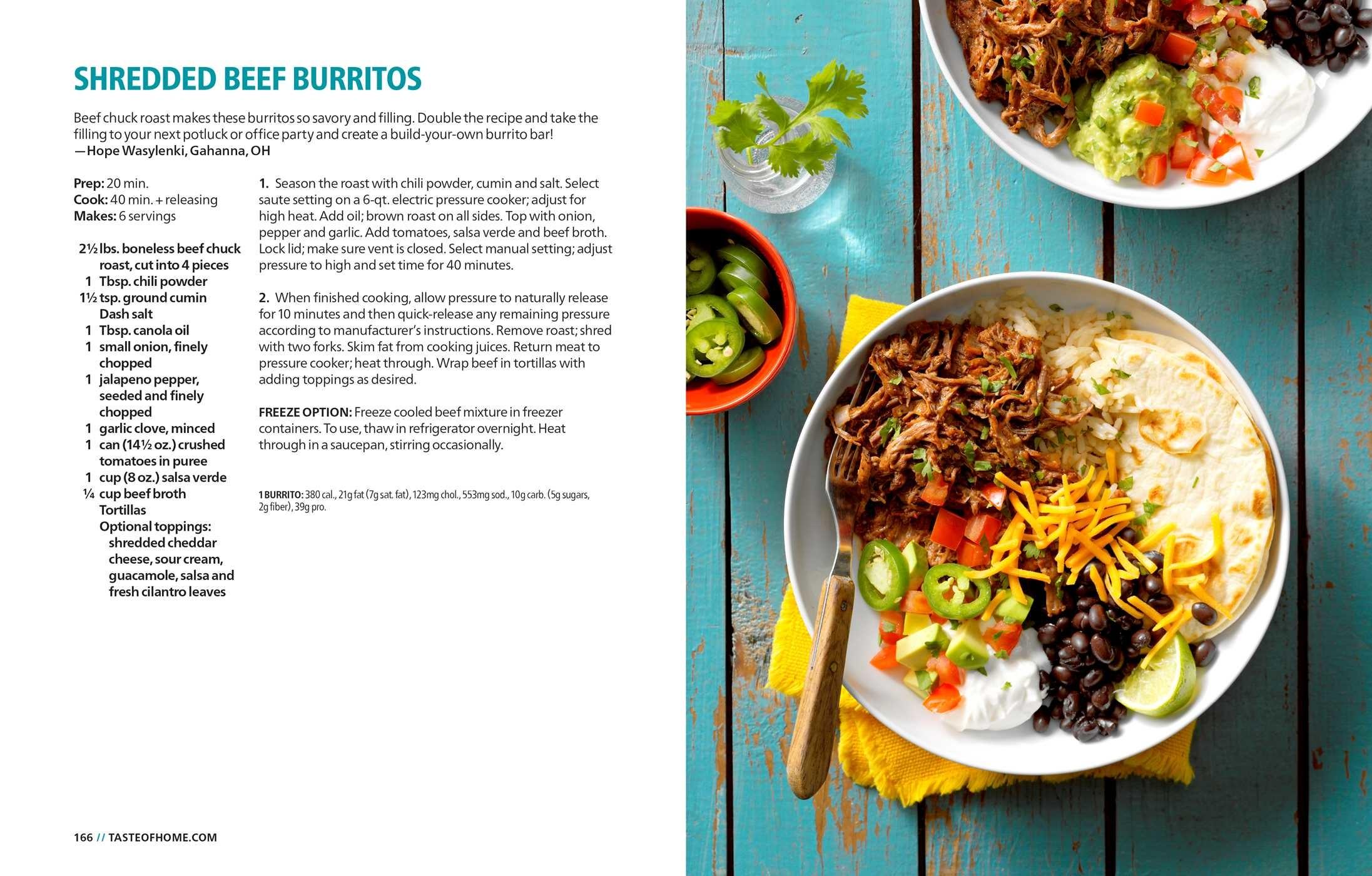 Taste of home instant pot cookbook 9781617657665.in12