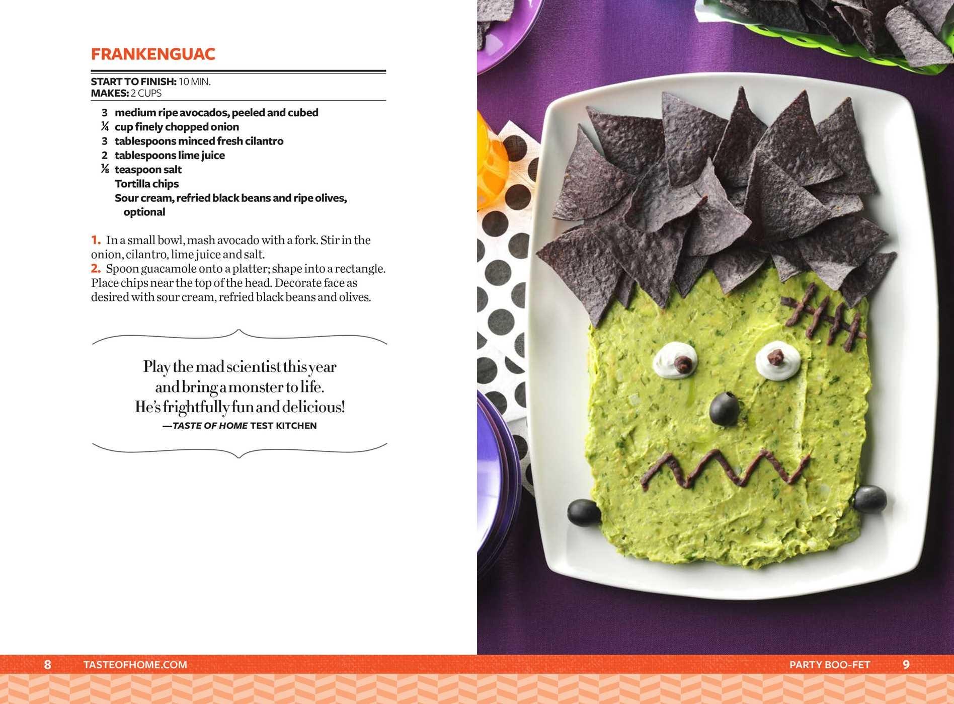 Taste of home halloween mini binder 9781617657689.in02
