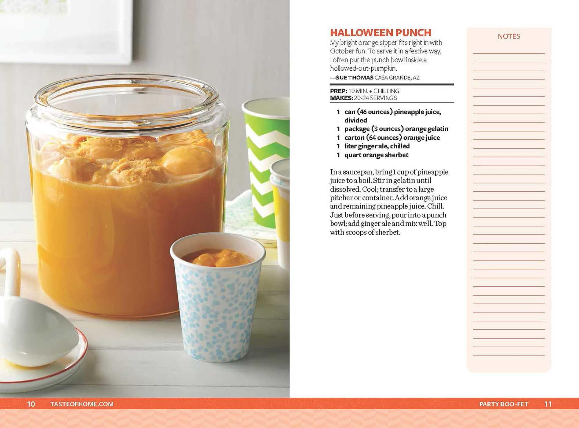 Taste of home halloween mini binder 9781617657689.in03