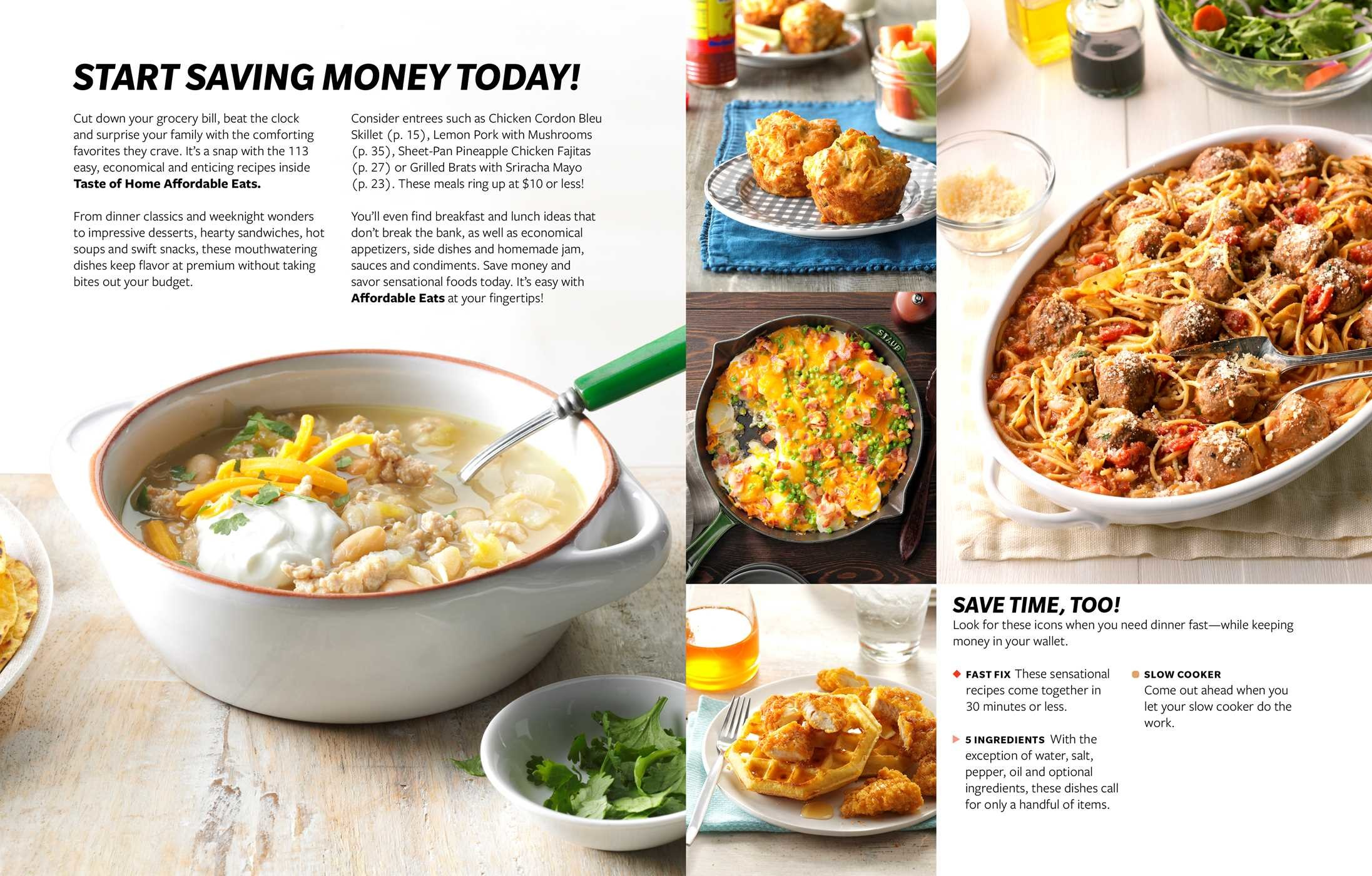 Taste of Home Affordable Eats | Book by Taste of Home | Official