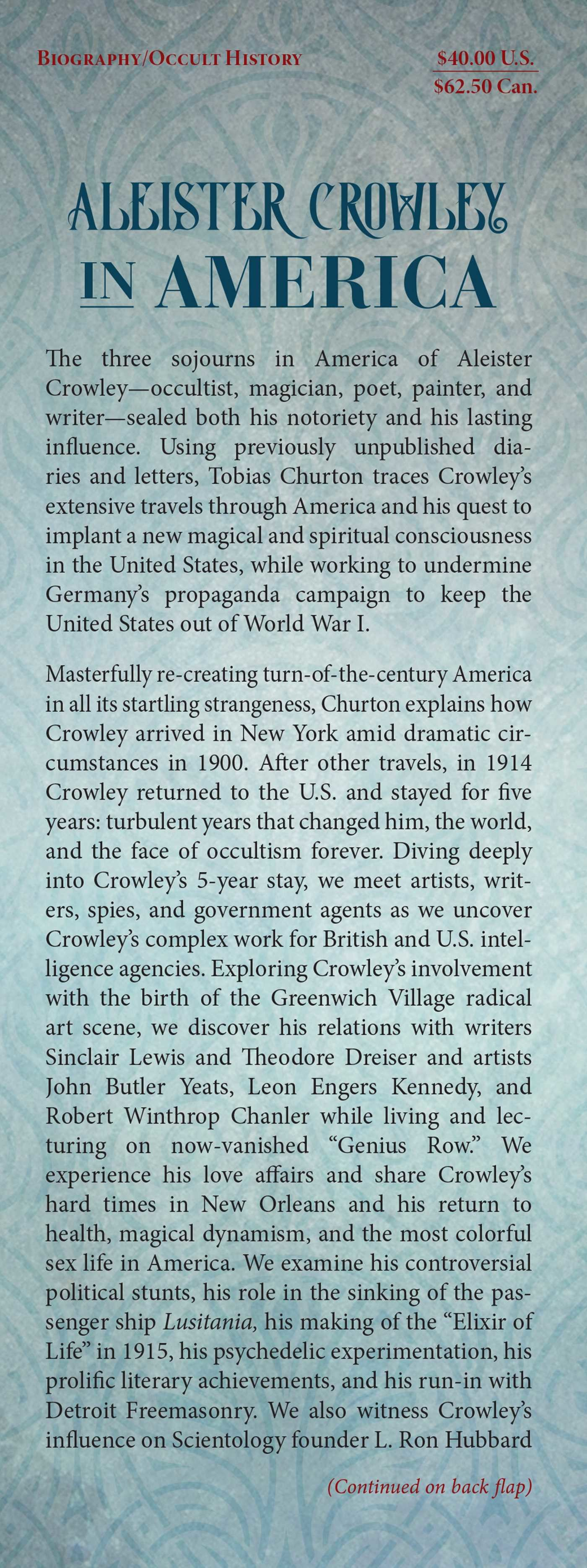 Aleister crowley in america 9781620556306.in01
