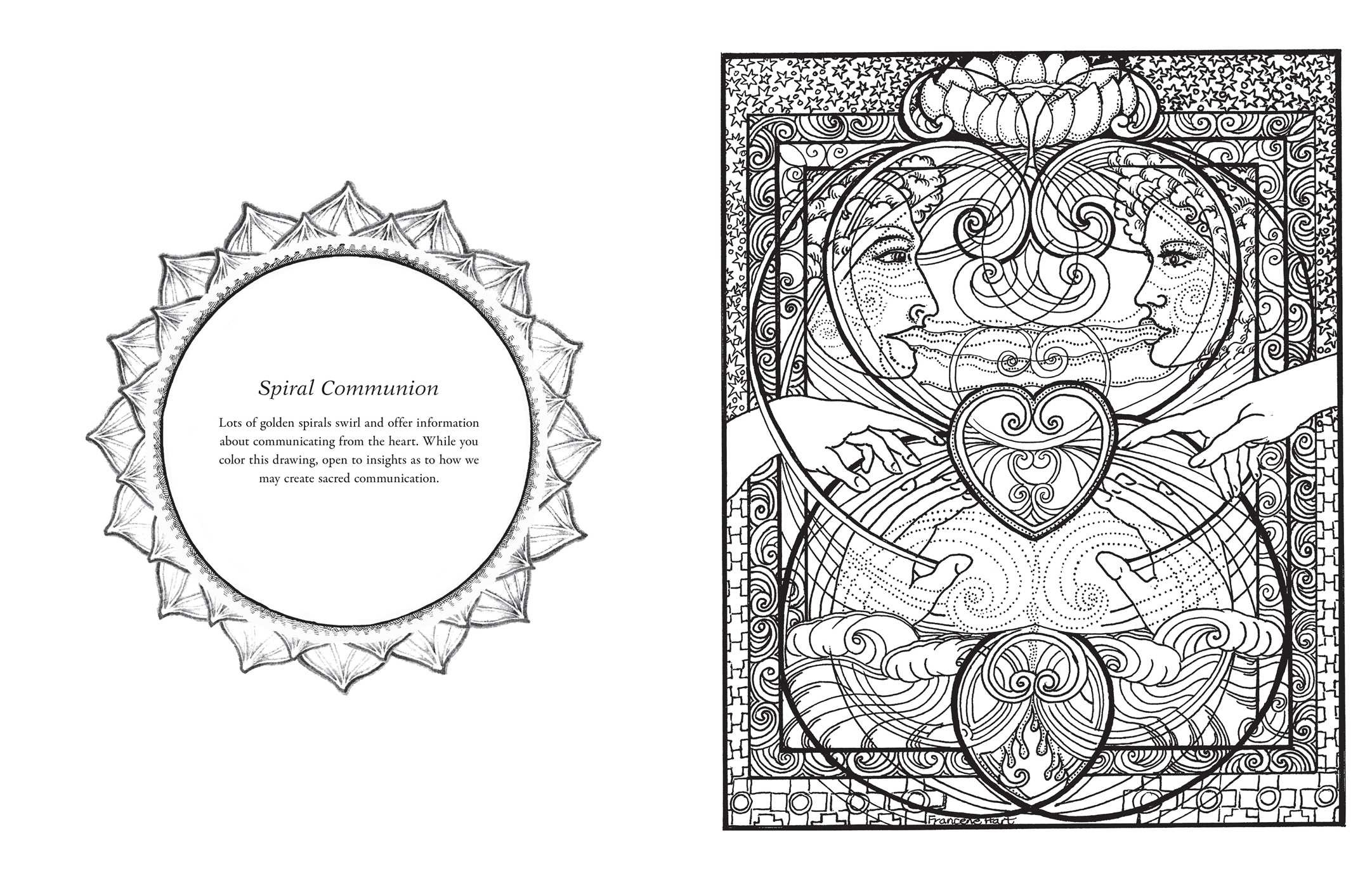 Sacred Geometry Coloring Book | Book by Francene Hart | Official ...