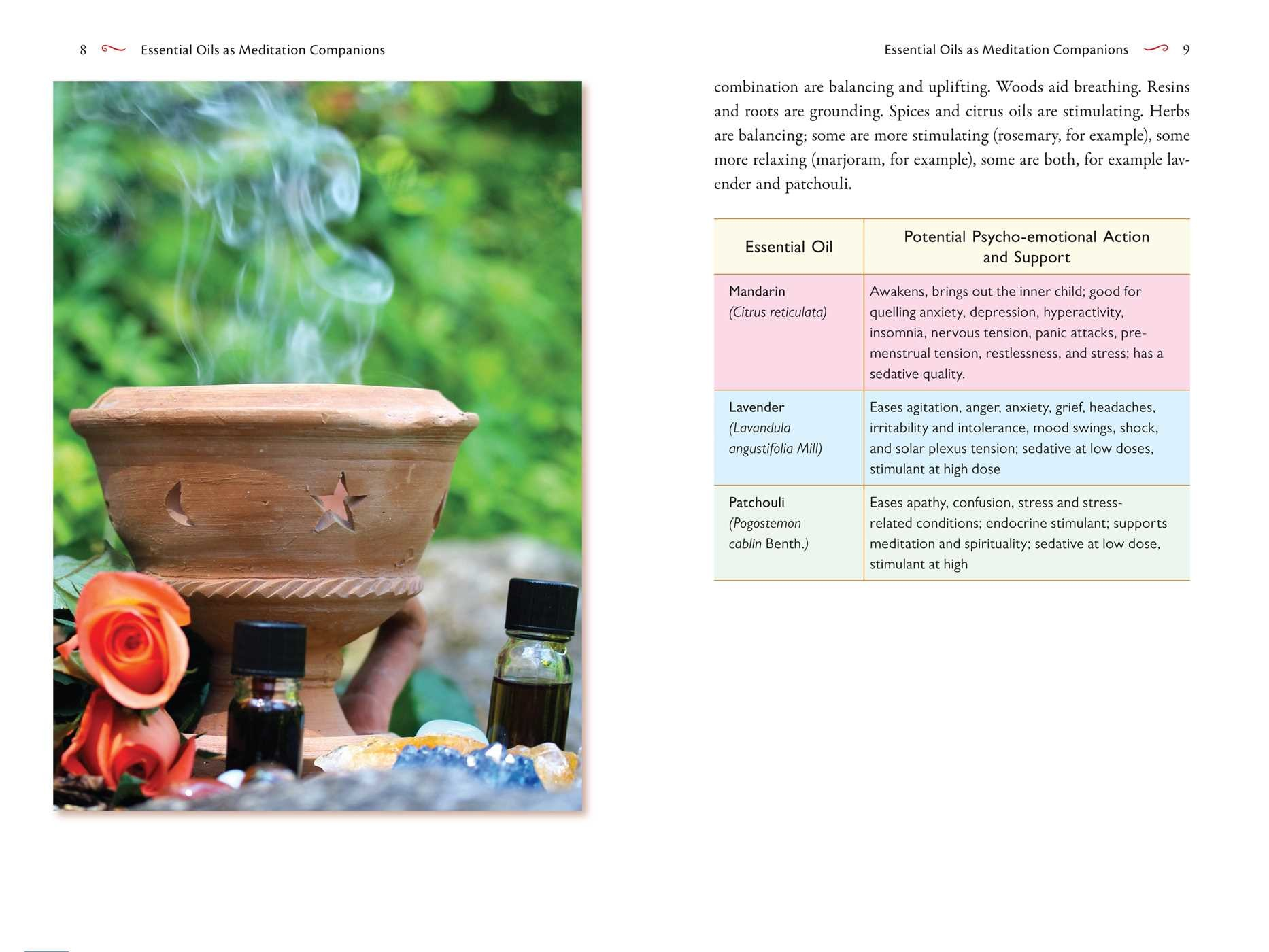 Essential oils for mindfulness and meditation 9781620557624.in03