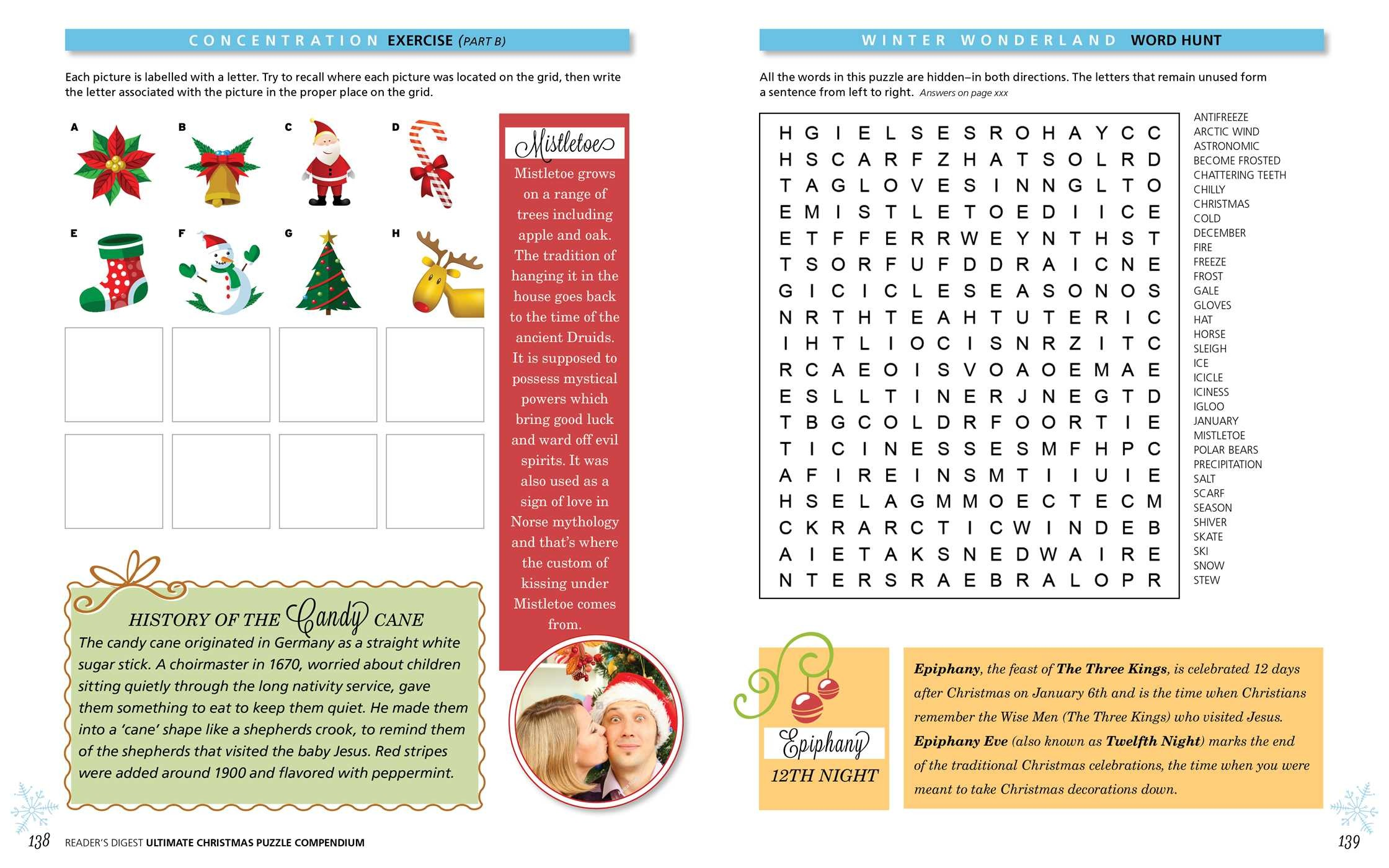 Reader\'s Digest Ultimate Christmas Puzzles   Book by Reader\'s Digest ...
