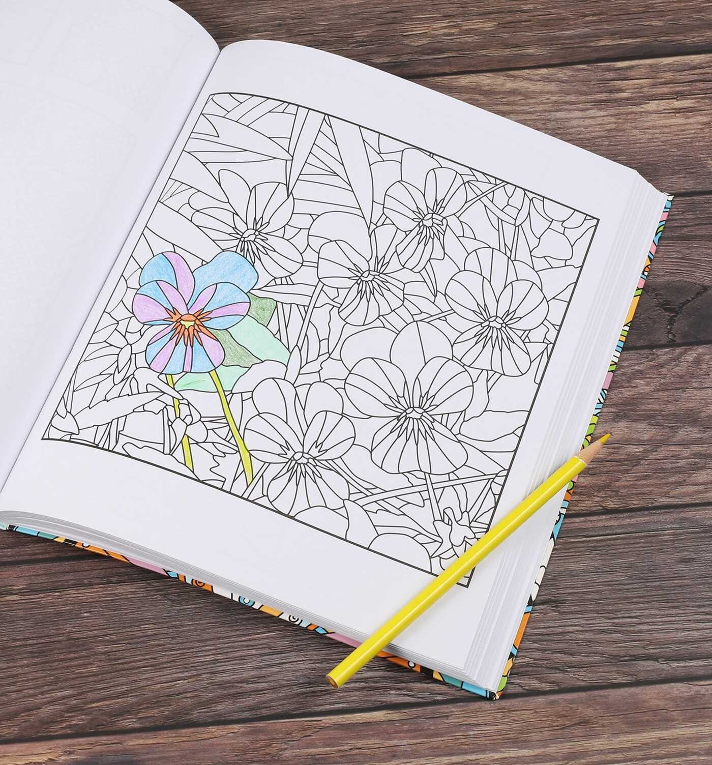 The Calm Coloring Book Book By Editors Of Thunder Bay Press