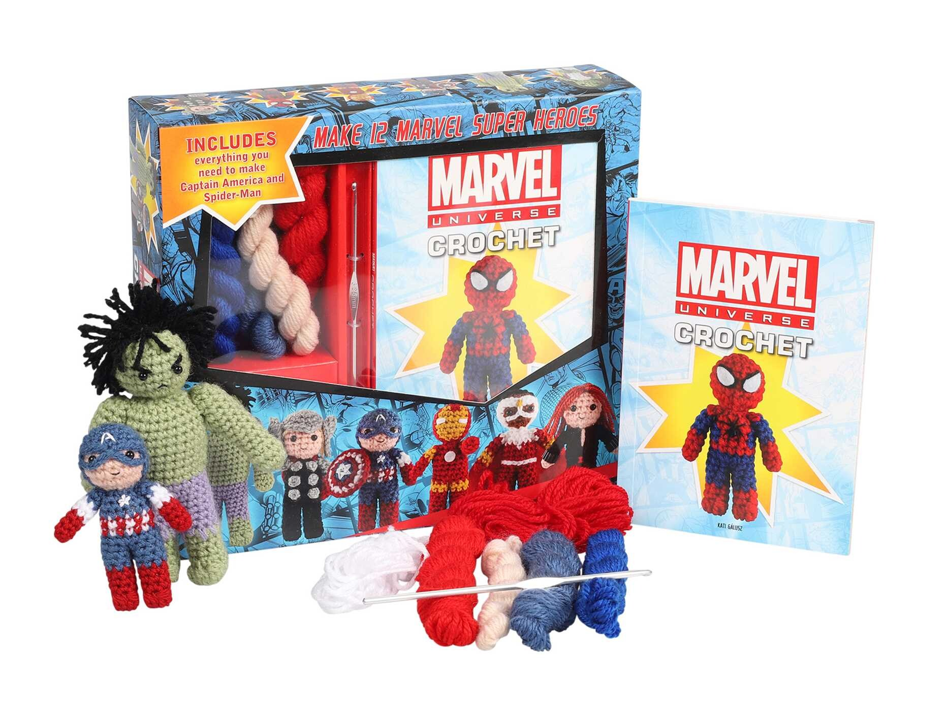 Marvel Universe Crochet Book Summary Video Official Publisher