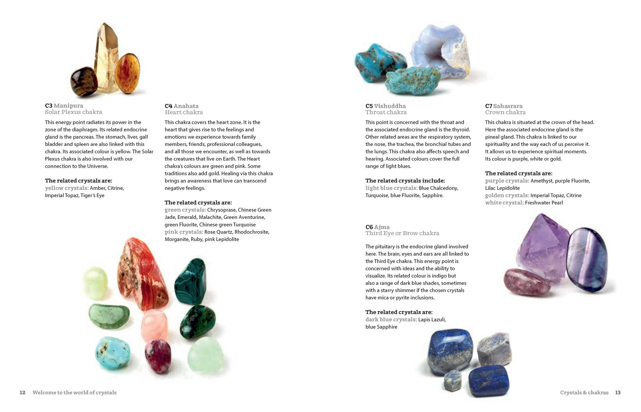 Healing Crystals | Book by Nathaëlh Remy, Catherine Mayet | Official