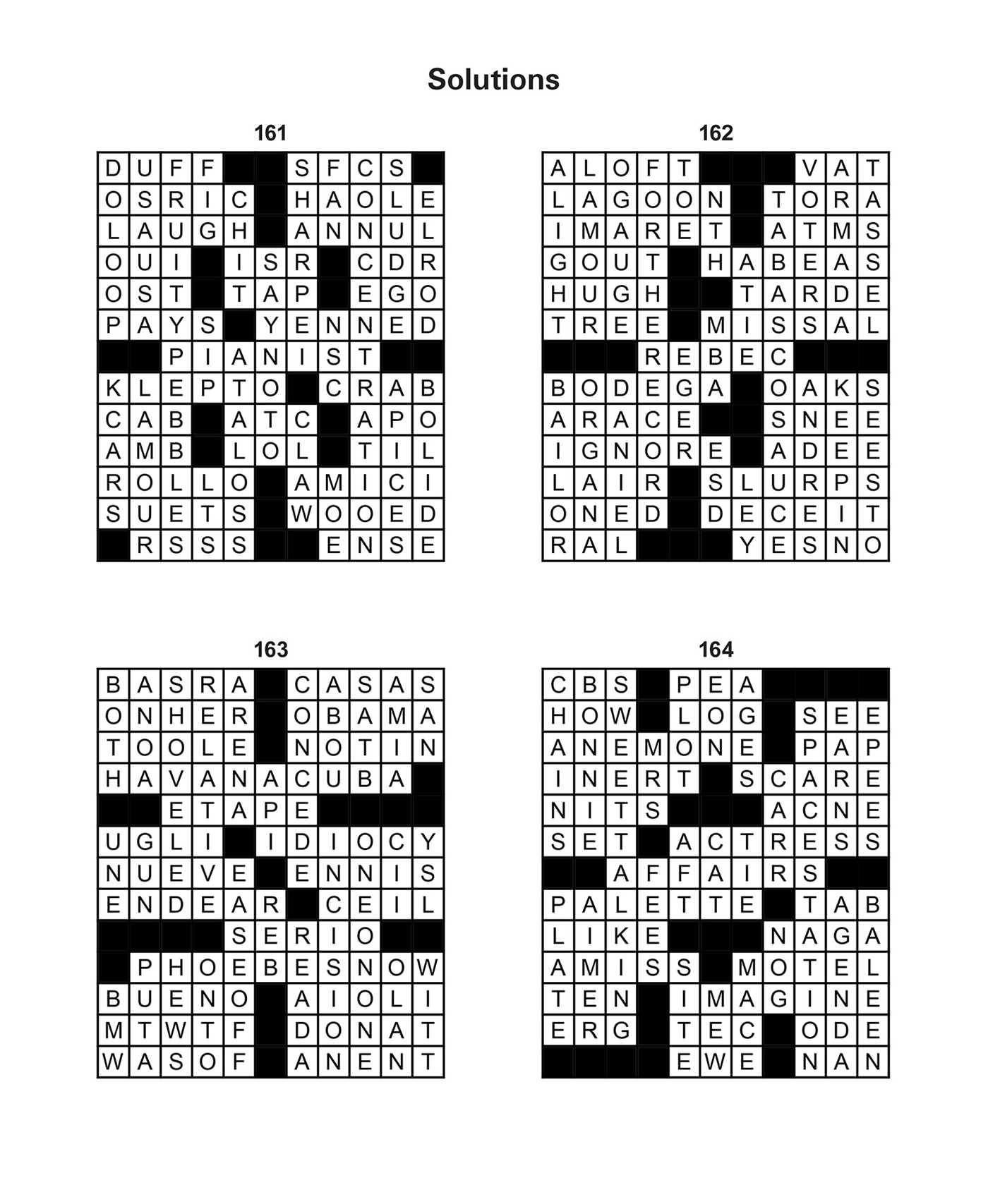 Large Print Crosswords | Book by Editors of Thunder Bay