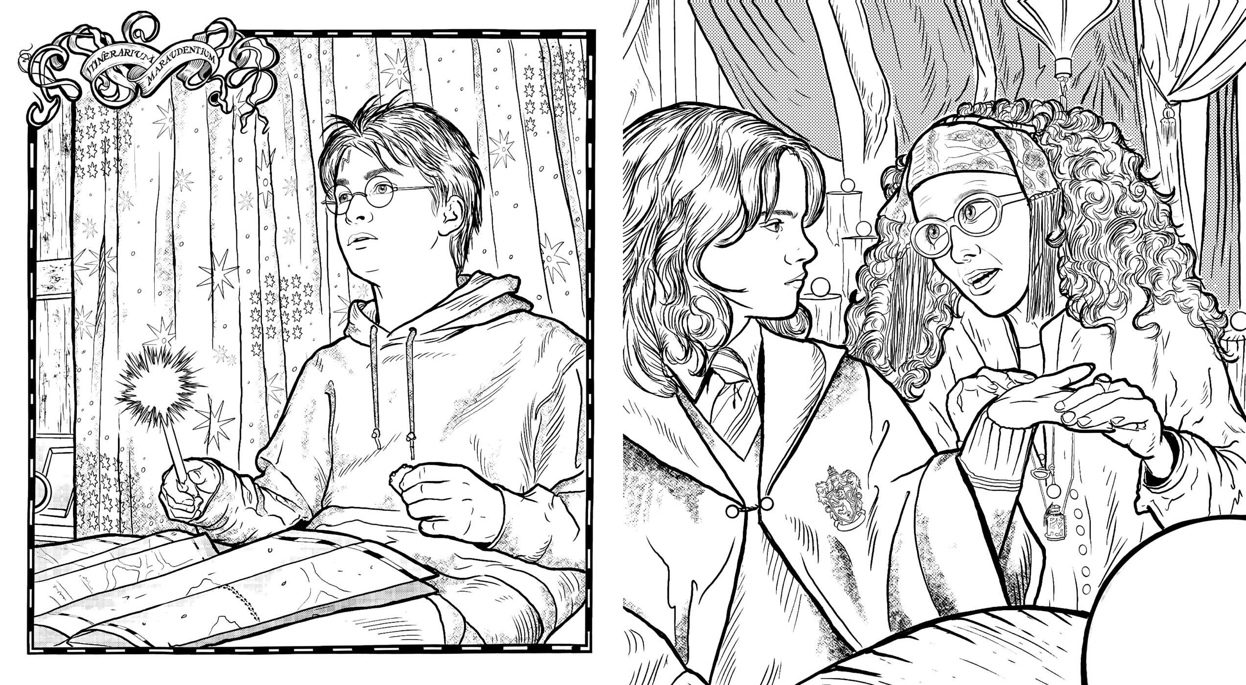 Harry Potter Coloring Wizardry   Book by Insight Editions ...
