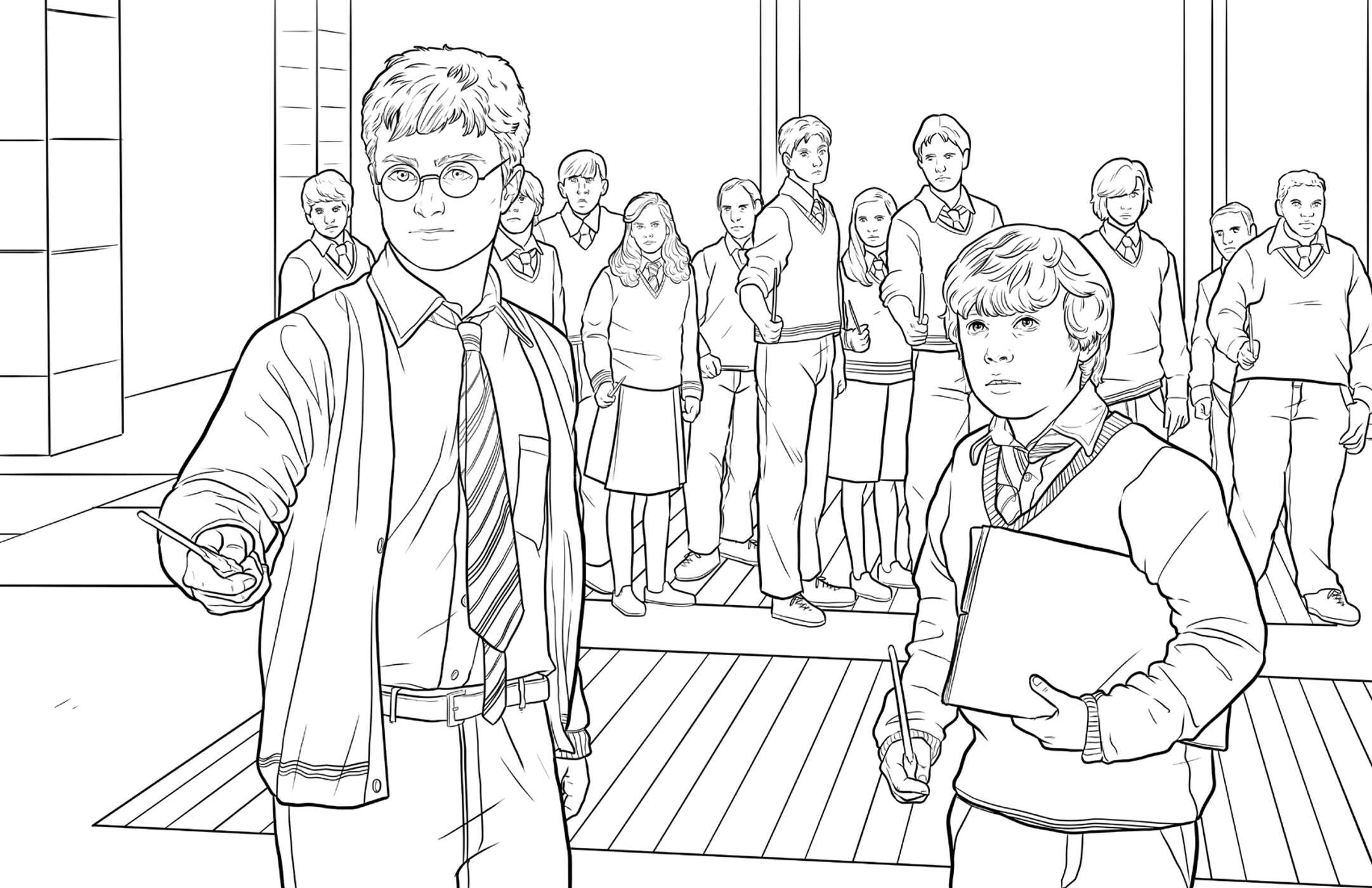 Harry Potter Hufflepuff House Pride The Official Coloring Book ...
