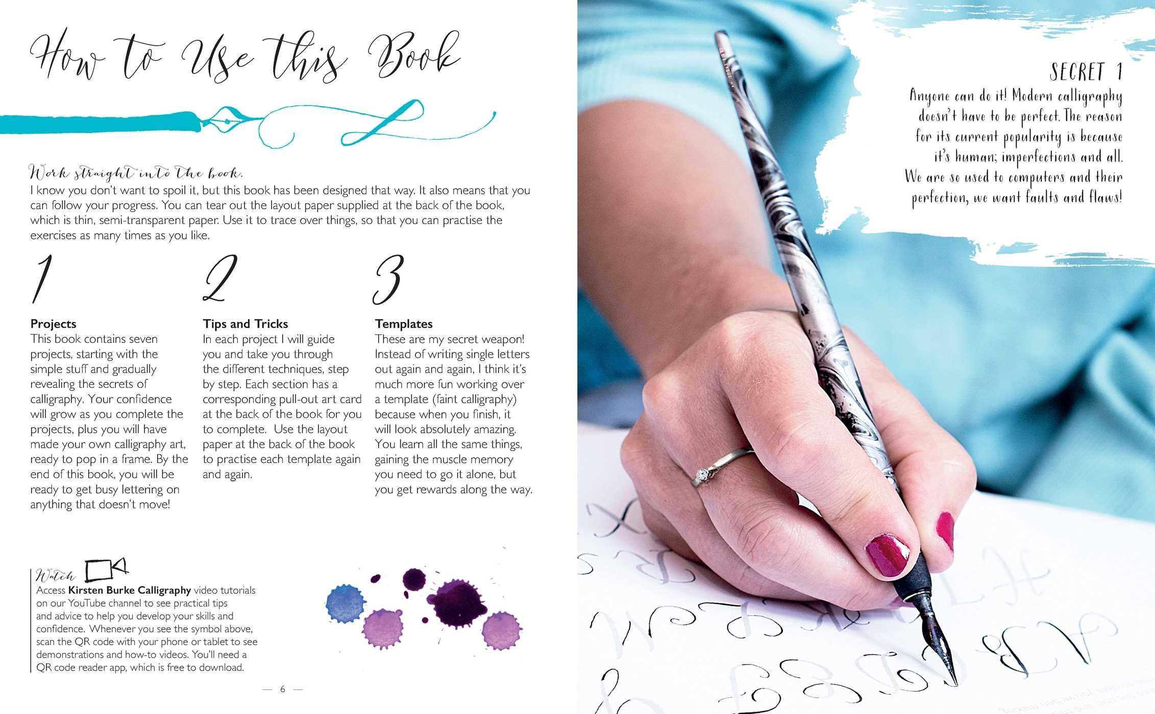 Secrets of modern calligraphy 9781681883823.in02