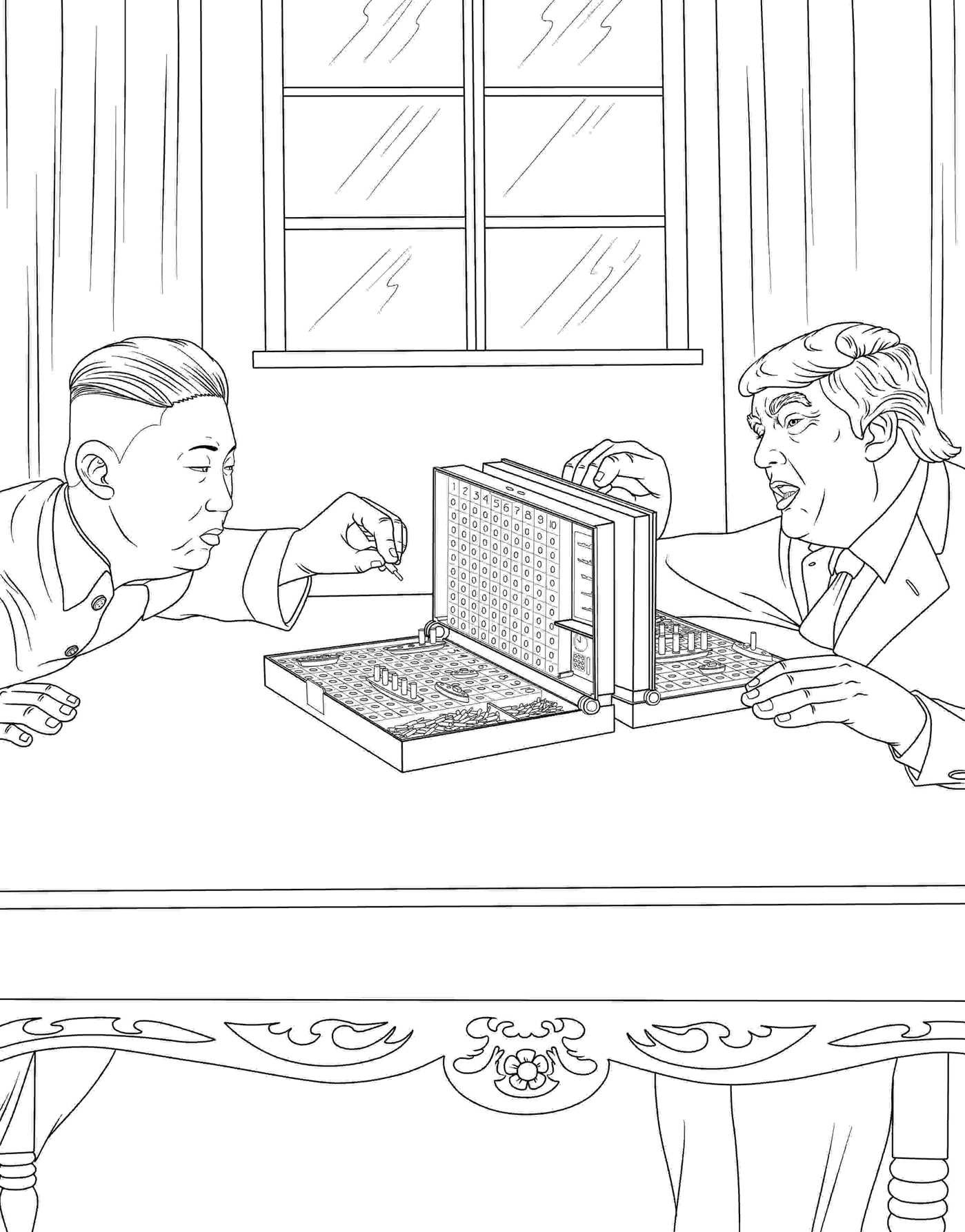 The Trump Coloring Book 9781682610282in01