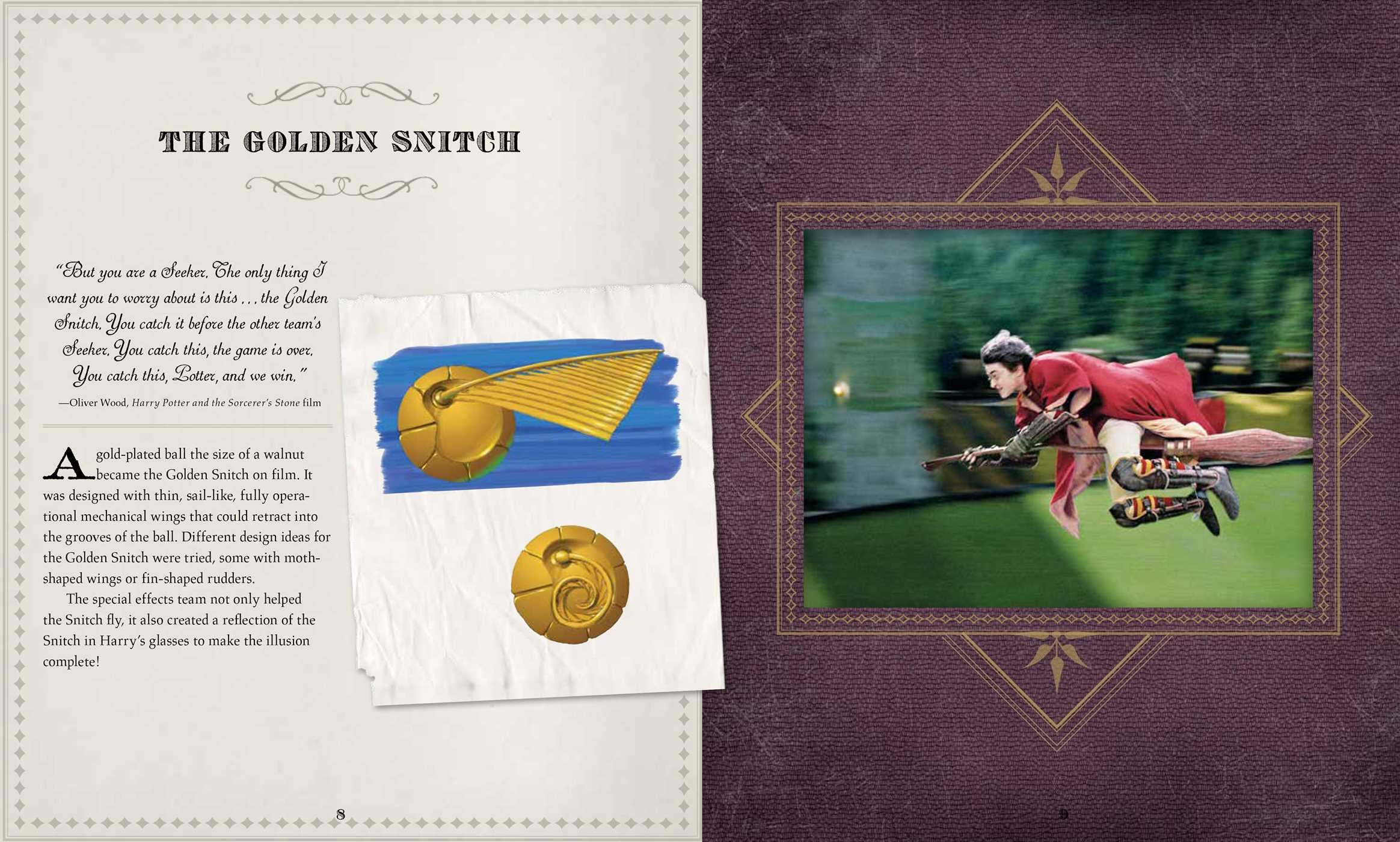 IncrediBuilds: Harry Potter: Golden Snitch 3D Wood Model and