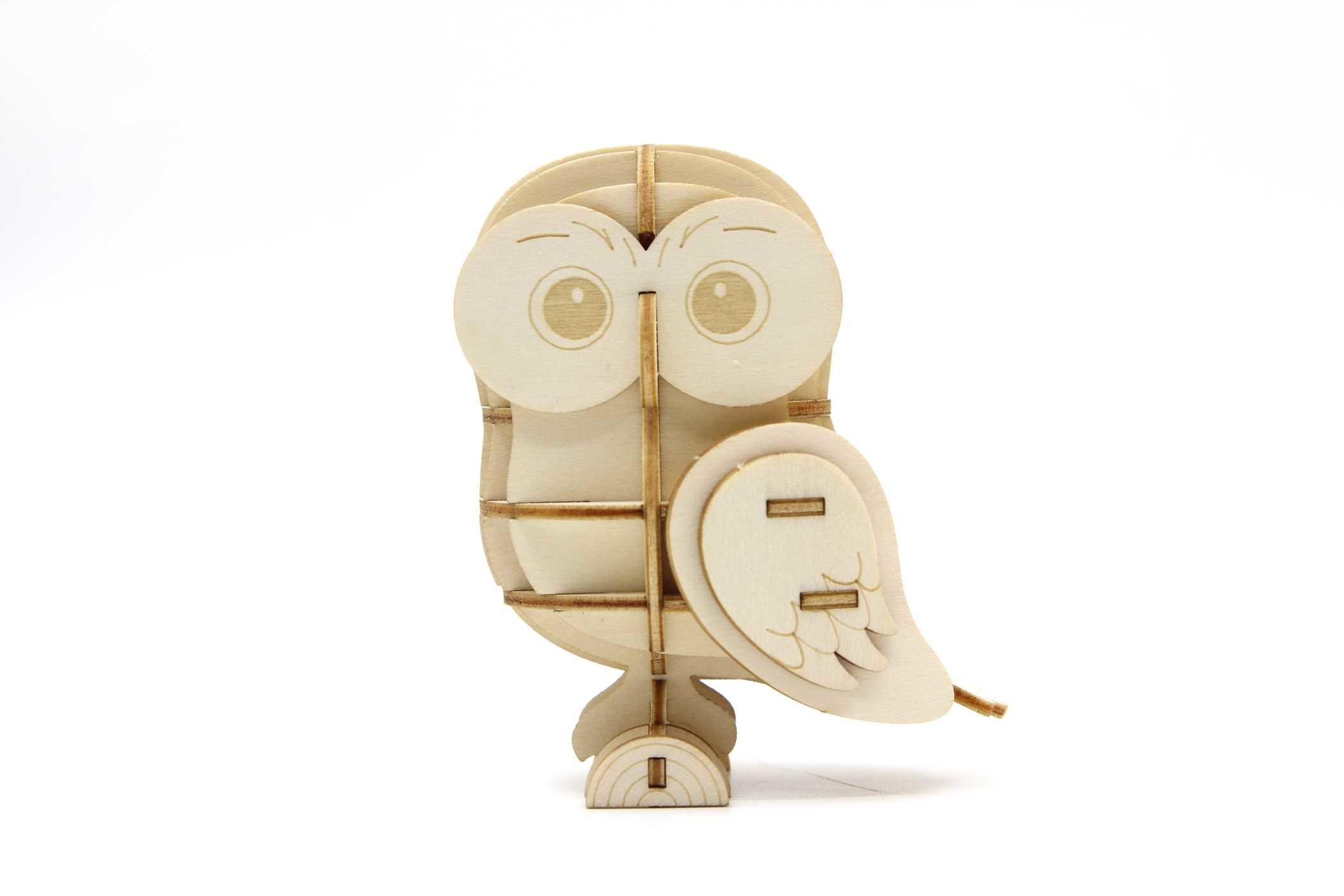 Incredibuilds owl 3d wood model 9781682980408.in03