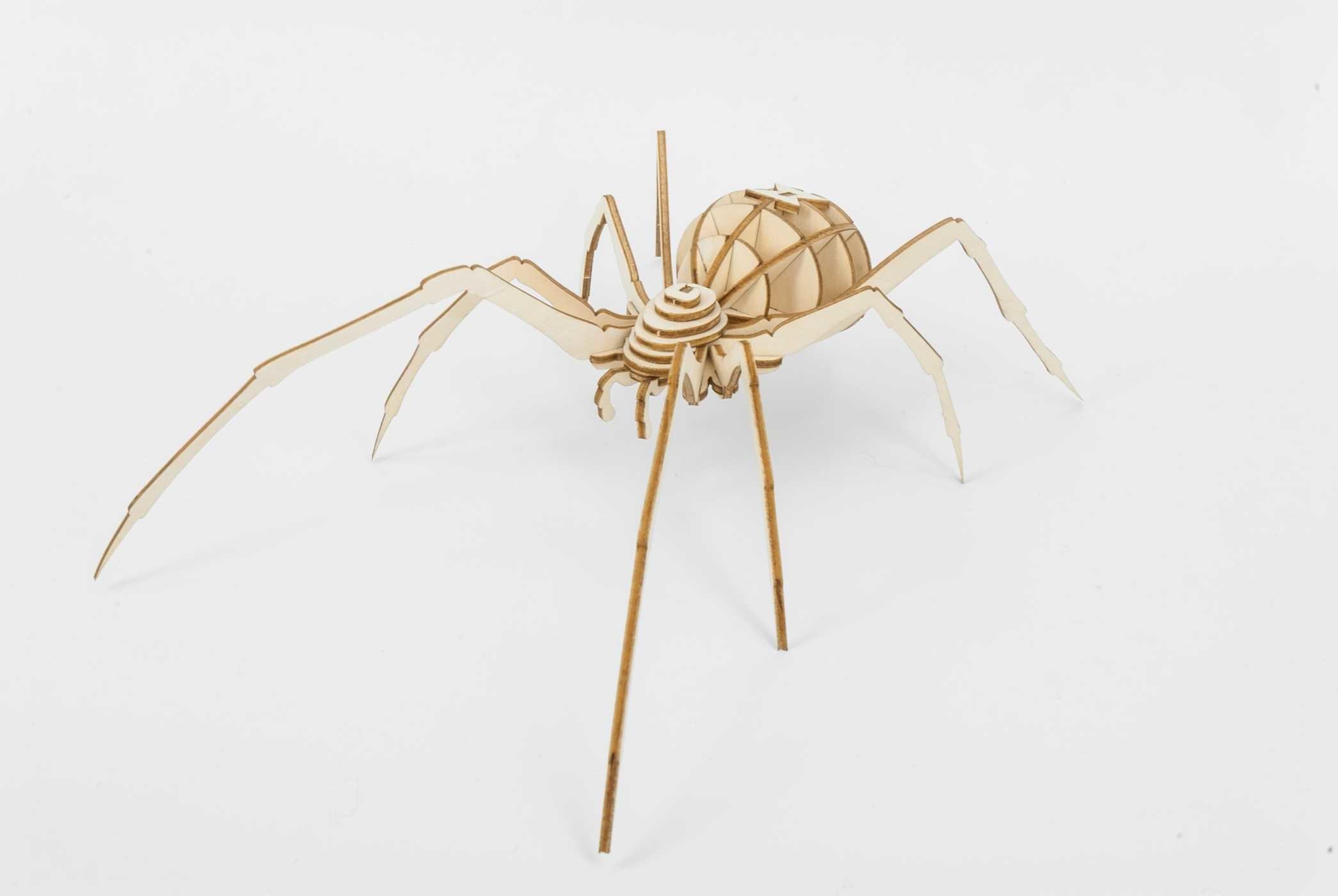 Incredibuilds spider 3d wood model 9781682980415.in01