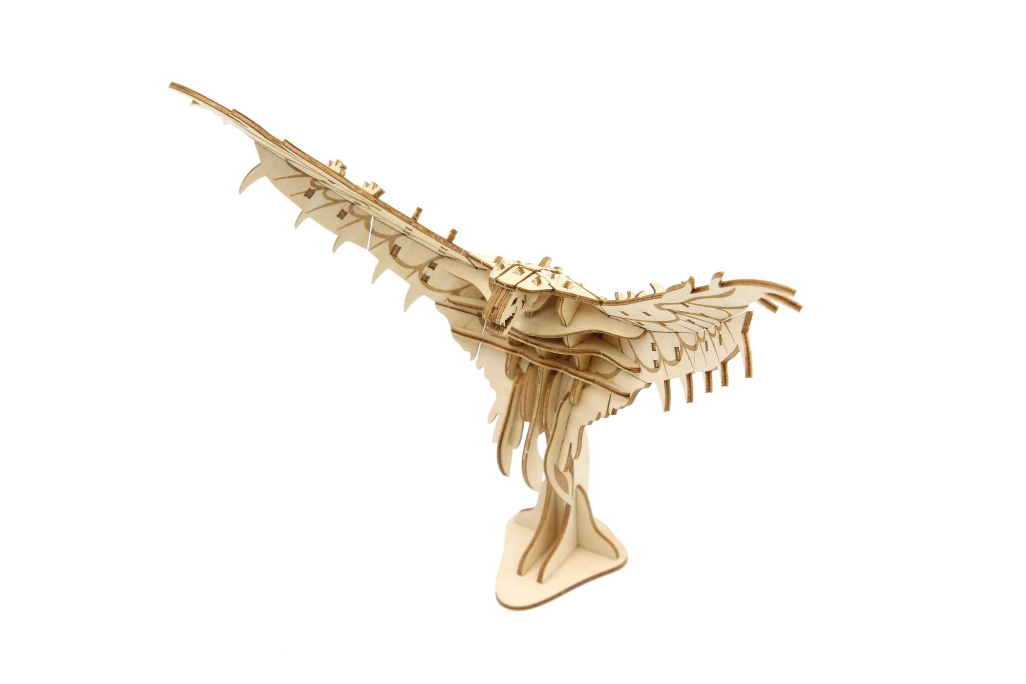Incredibuilds fantastic beasts and where to find them swooping evil 3d wood model and booklet 9781682980606.in01