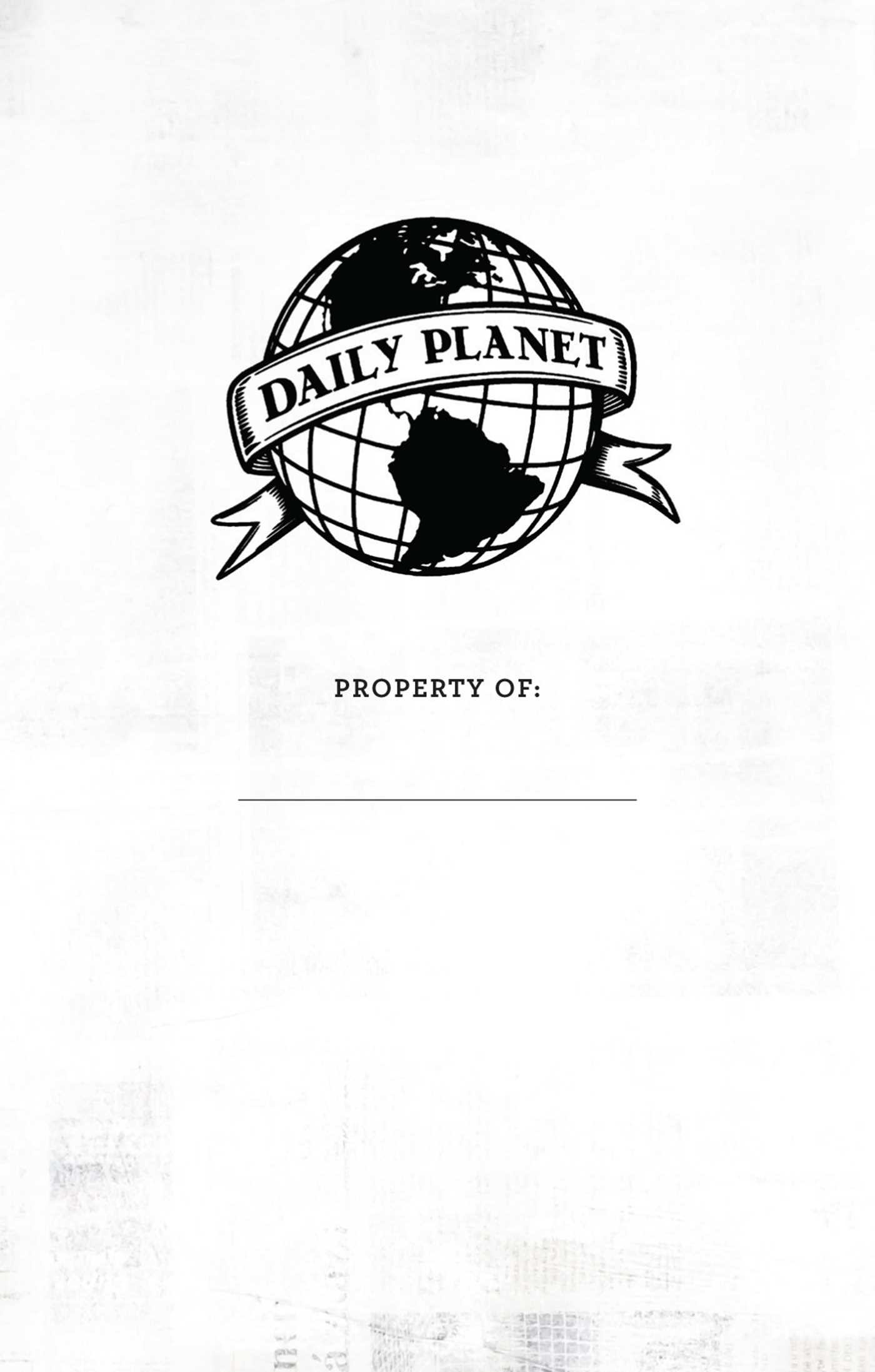 superman daily planet ruled pocket journal book by
