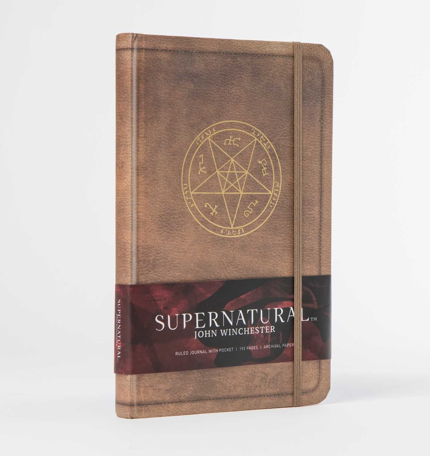 Supernatural john winchester hardcover ruled journal 9781683830740.in04