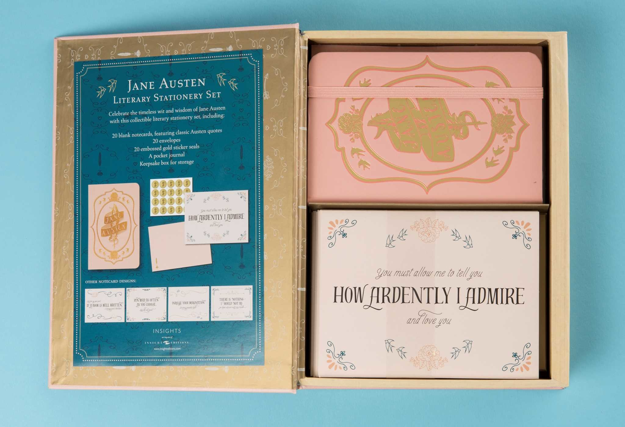 Literary stationery sets jane austen 9781683831037.in12