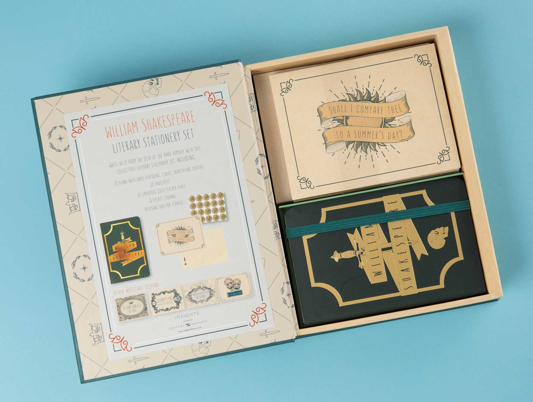Literary stationery sets william shakespeare 9781683831044.in11