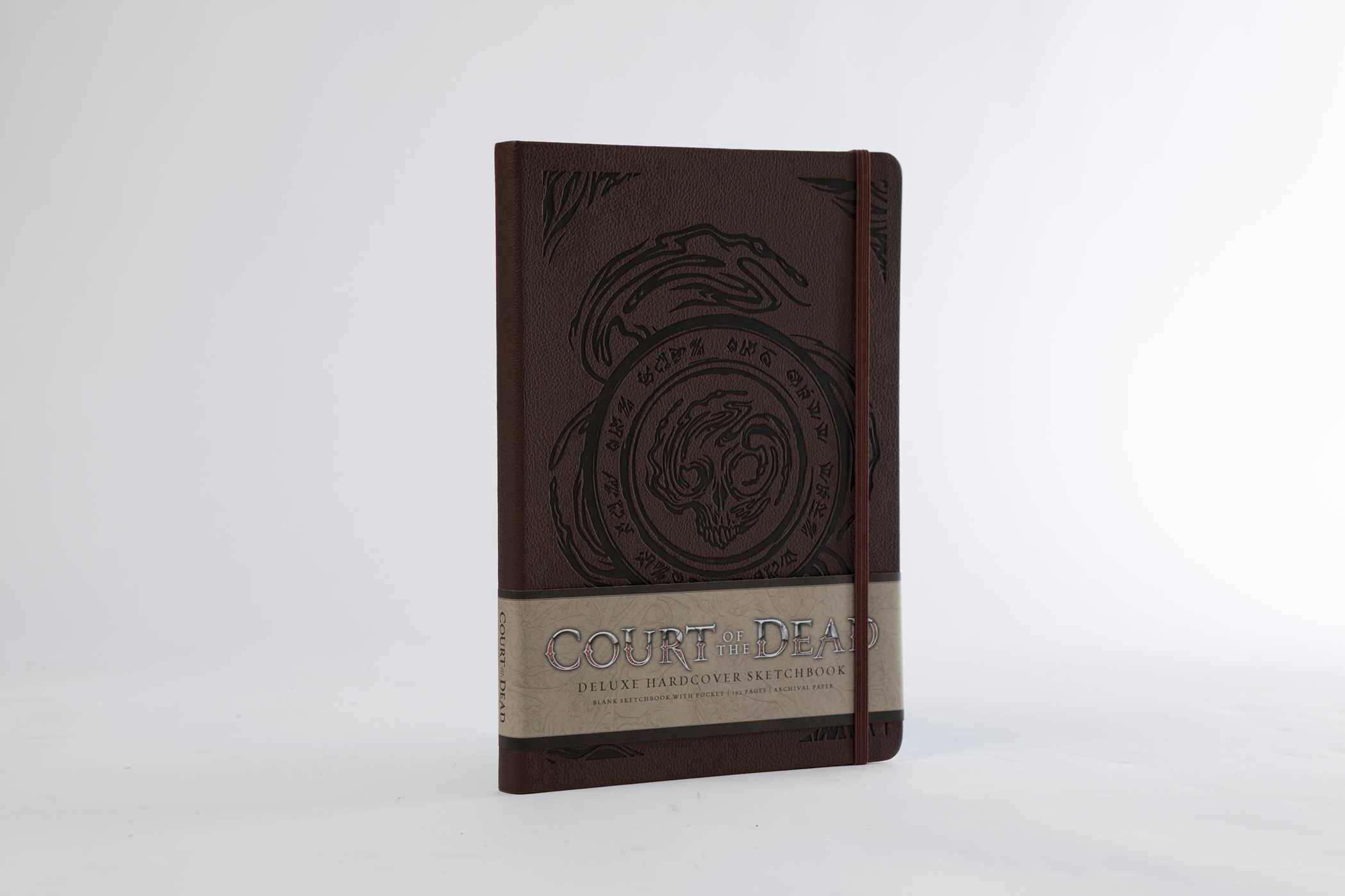 Court of the dead hardcover blank sketchbook 9781683831235.in05