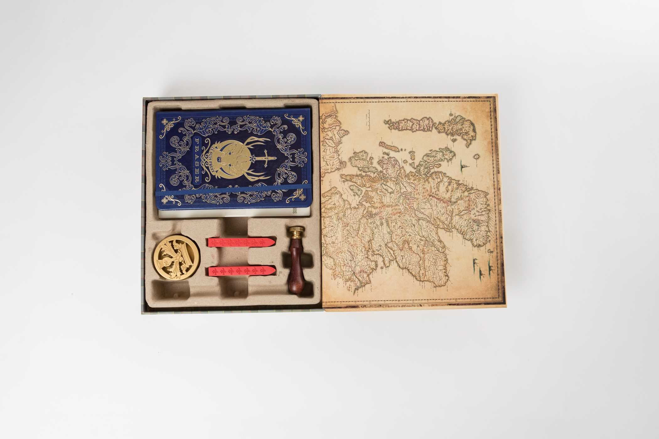 Outlander deluxe stationery set 9781683831495.in05