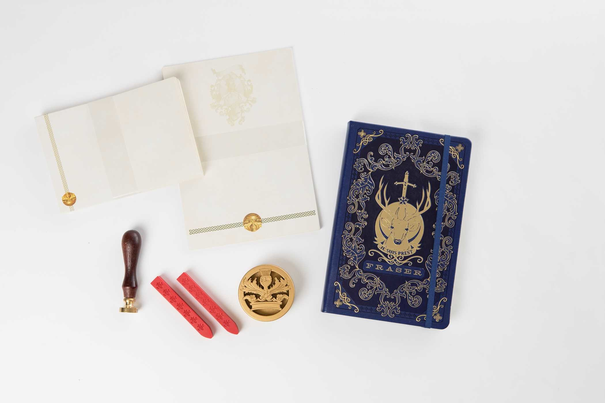 Outlander deluxe stationery set 9781683831495.in06