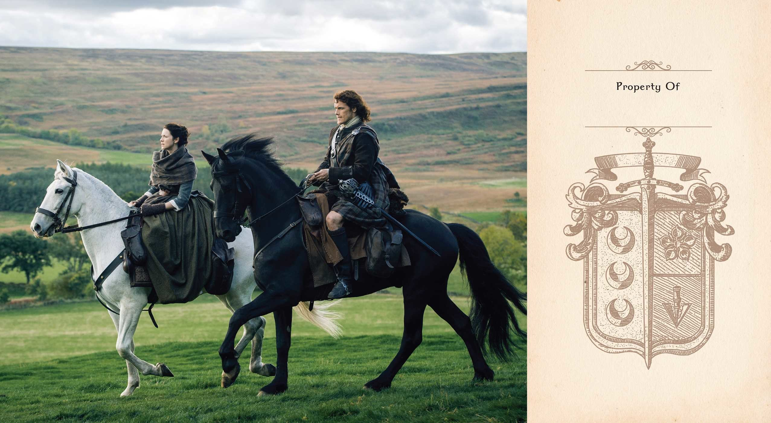 Outlander hardcover ruled journal 9781683831556.in01