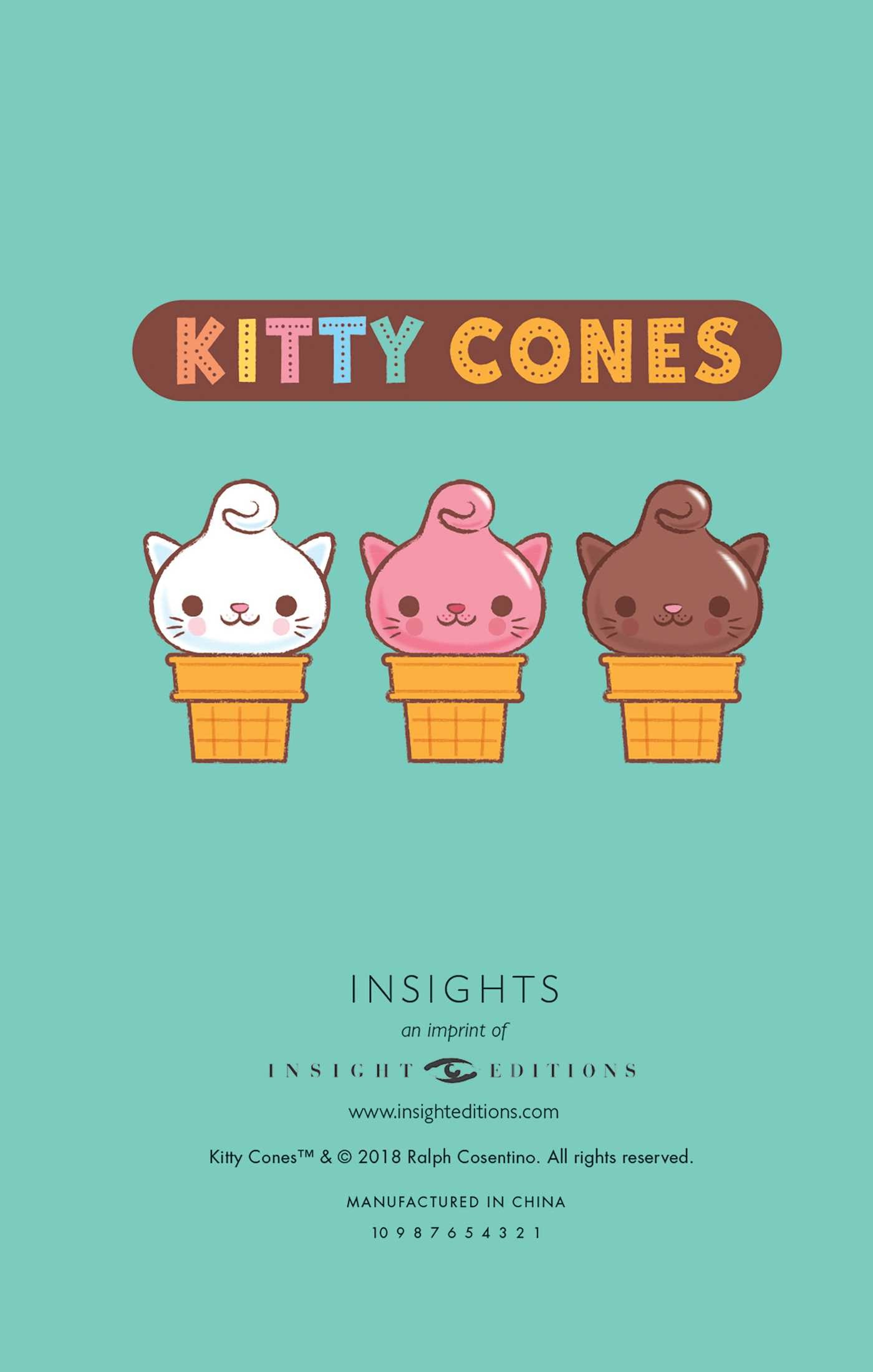 Kitty cones ruled pocket journal 9781683832386.in01