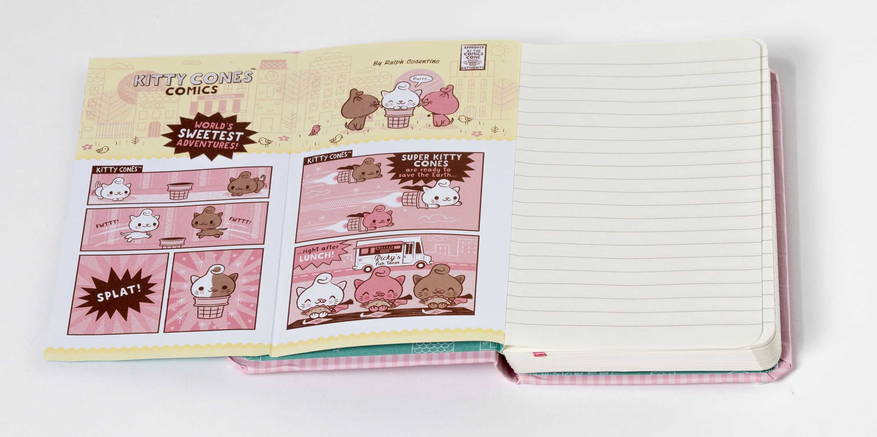 Kitty cones ruled pocket journal 9781683832386.in06